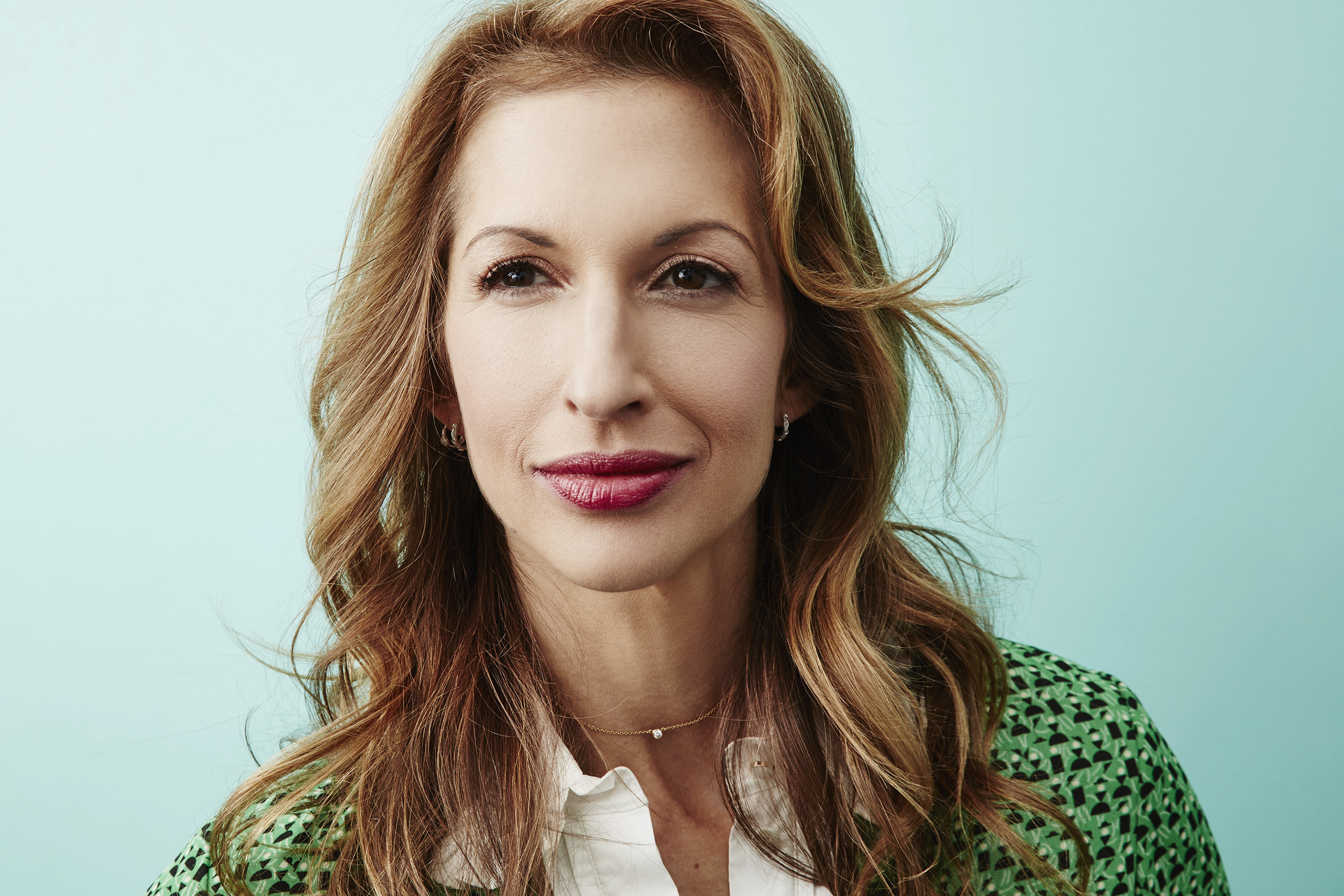 Alysia Reiner of 'Equity' poses at the 2016 Sundance Film Festival Getty Images Portrait Studio in Park City, Utah on Jan. 25, 2016.