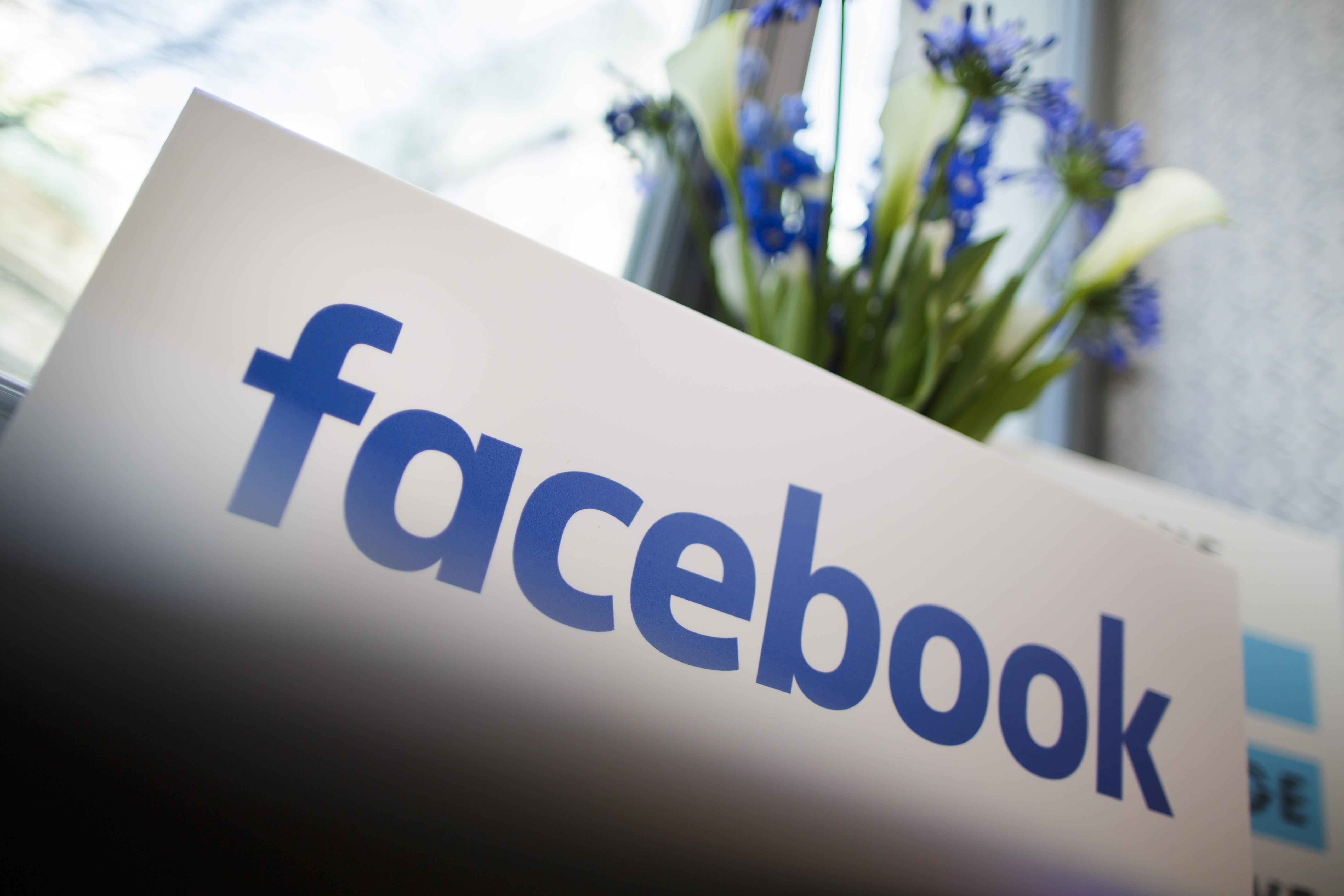Company Logo of Facebook on January 18, 2016 in Berlin, Germany.