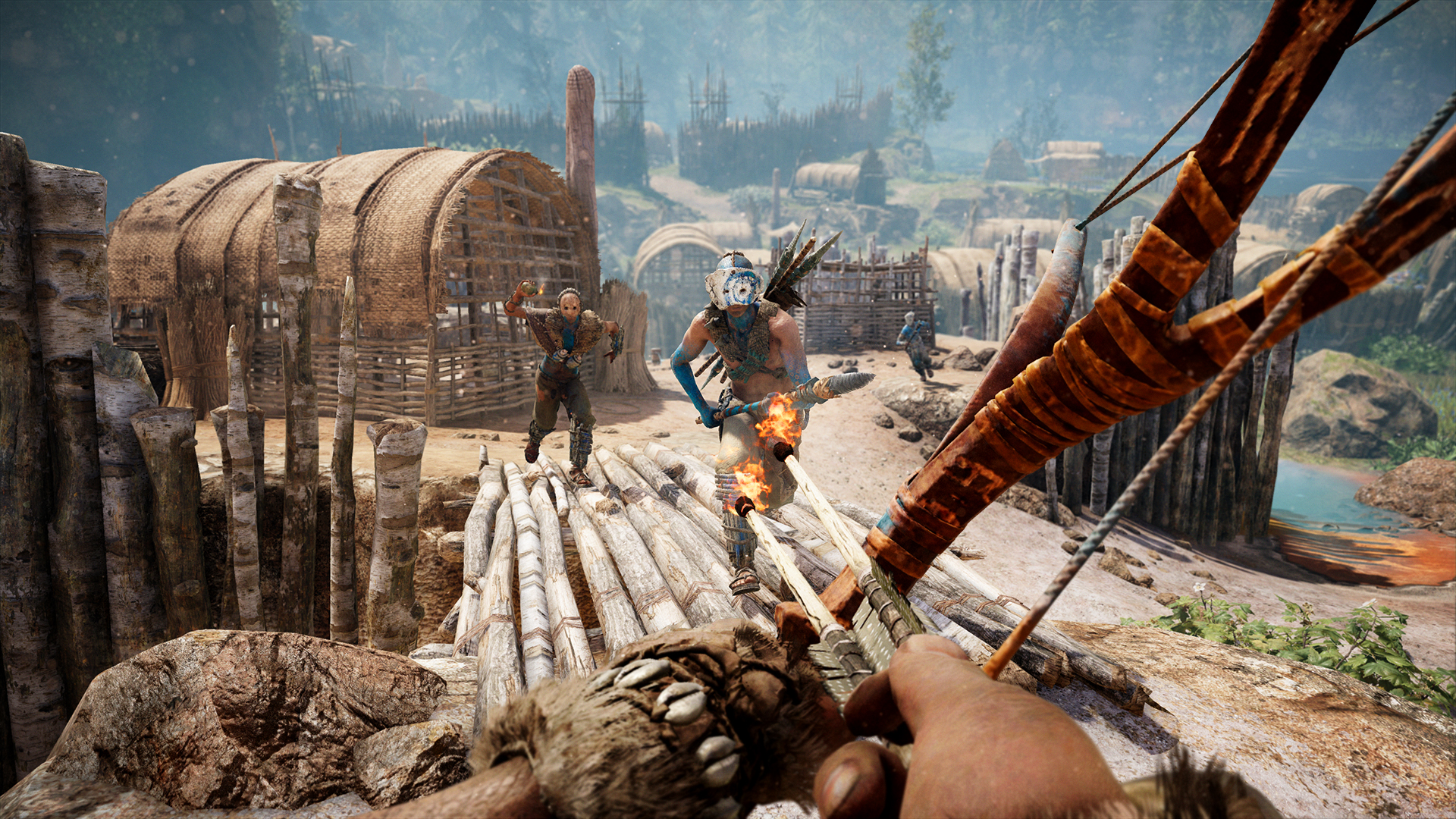 Far Cry Primal Turns You Into A Caveman Superhero Time