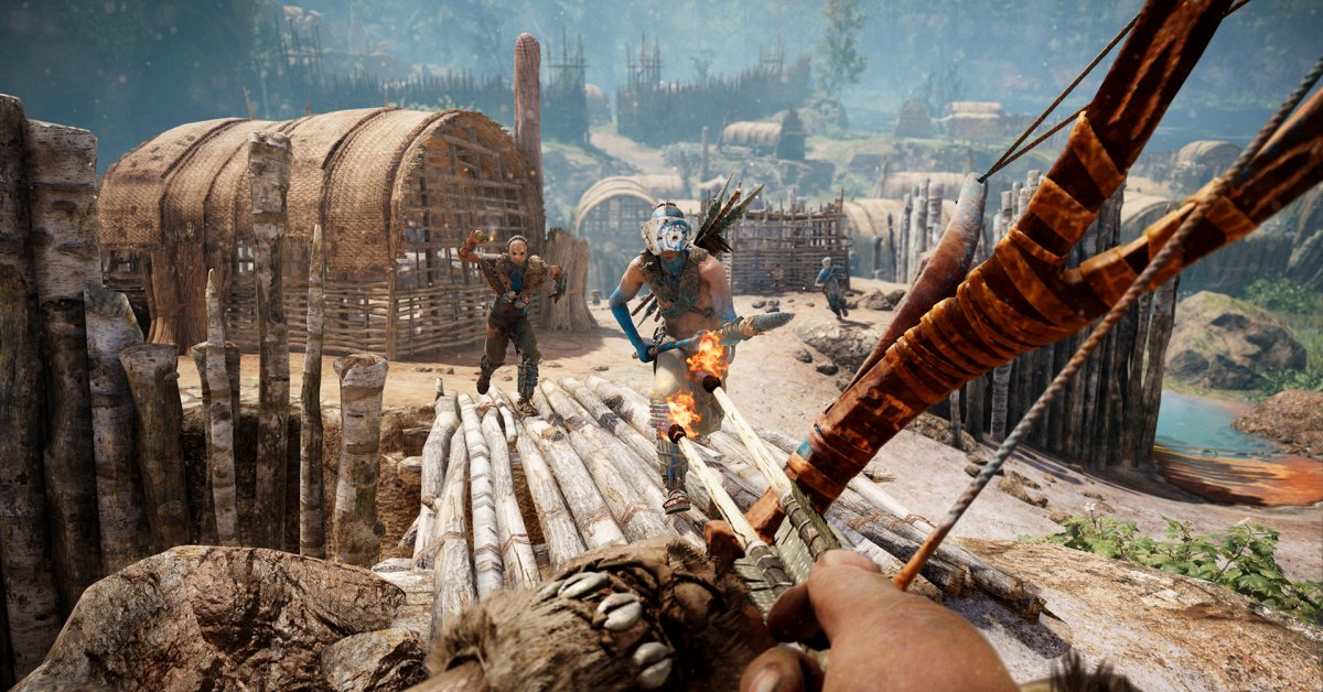 Far Cry Primal Turns You Into A Caveman Superhero Time