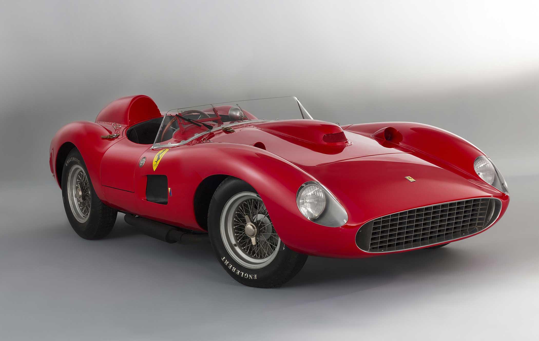 The 1957 Ferrari 335 S Spider Scaglietti is one of the rarest Ferraris in existence.