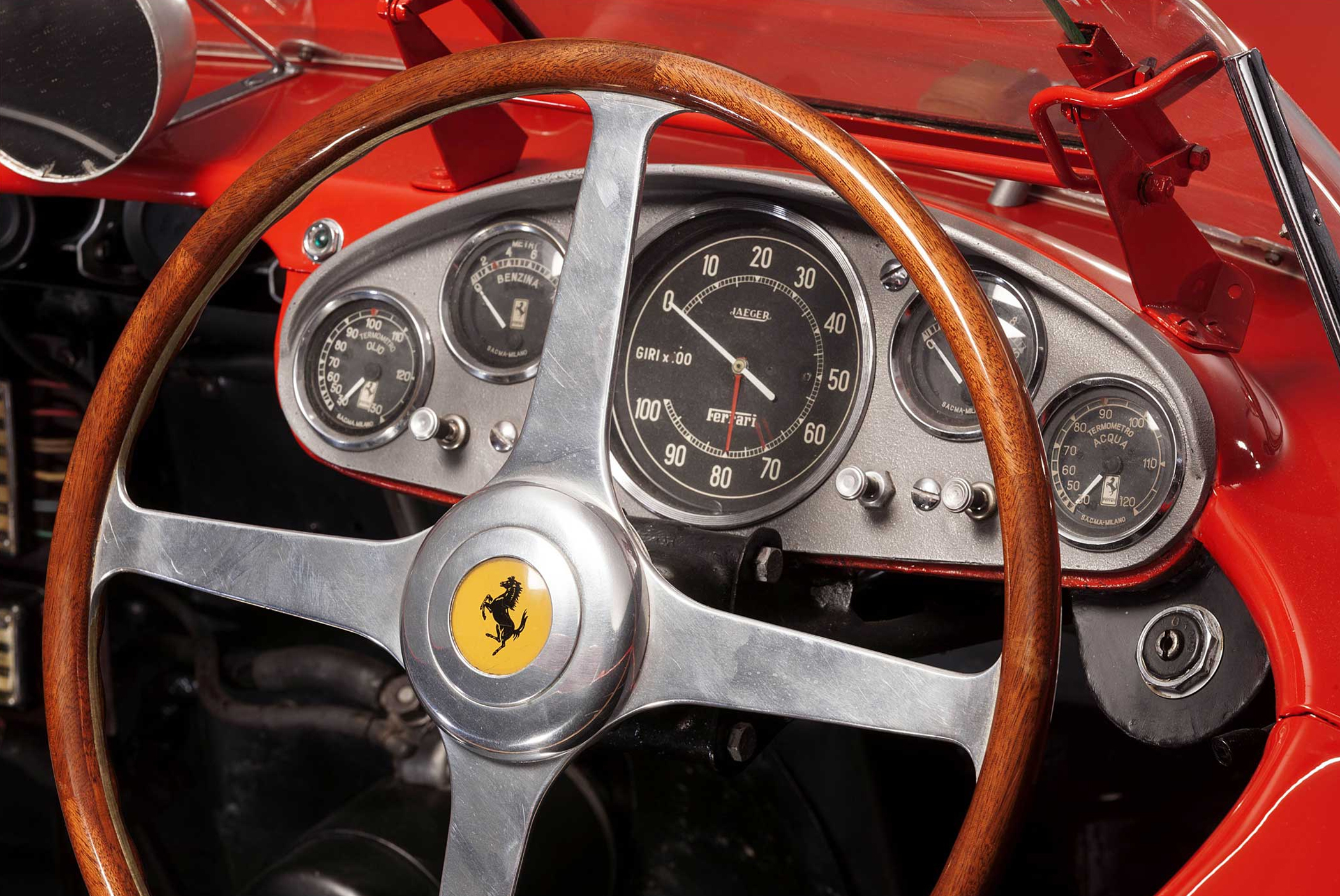 The Ferrari sold for about $36 million.
