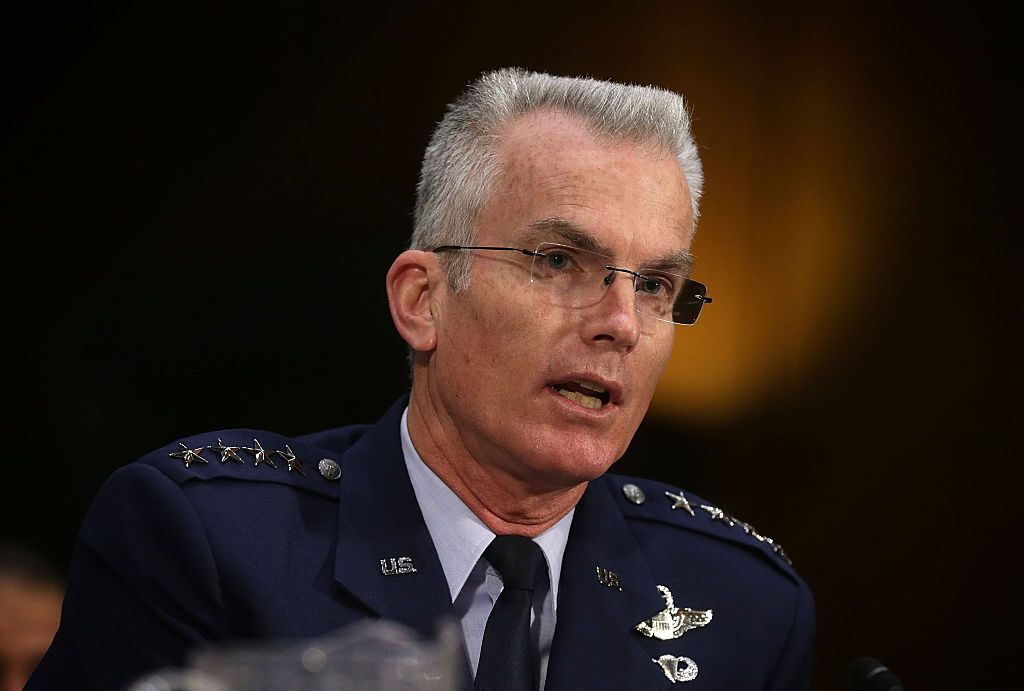 Some lawmakers consider General Paul Selva a dupe for embracing the Administration's 2017 defense spending plan.