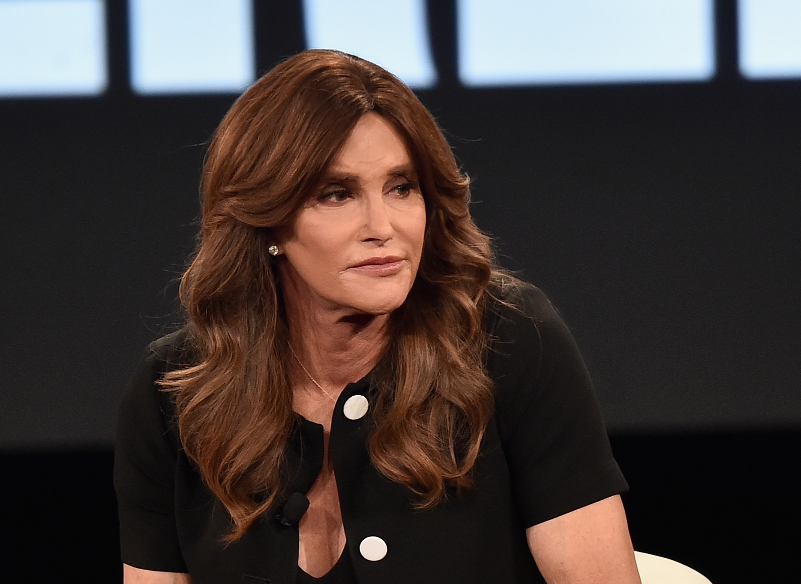 Caitlyn Jenner speaks at the AOL 2016 MAKERS conference at Terranea Resort on February 2, 2016 in Rancho Palos Verdes, California