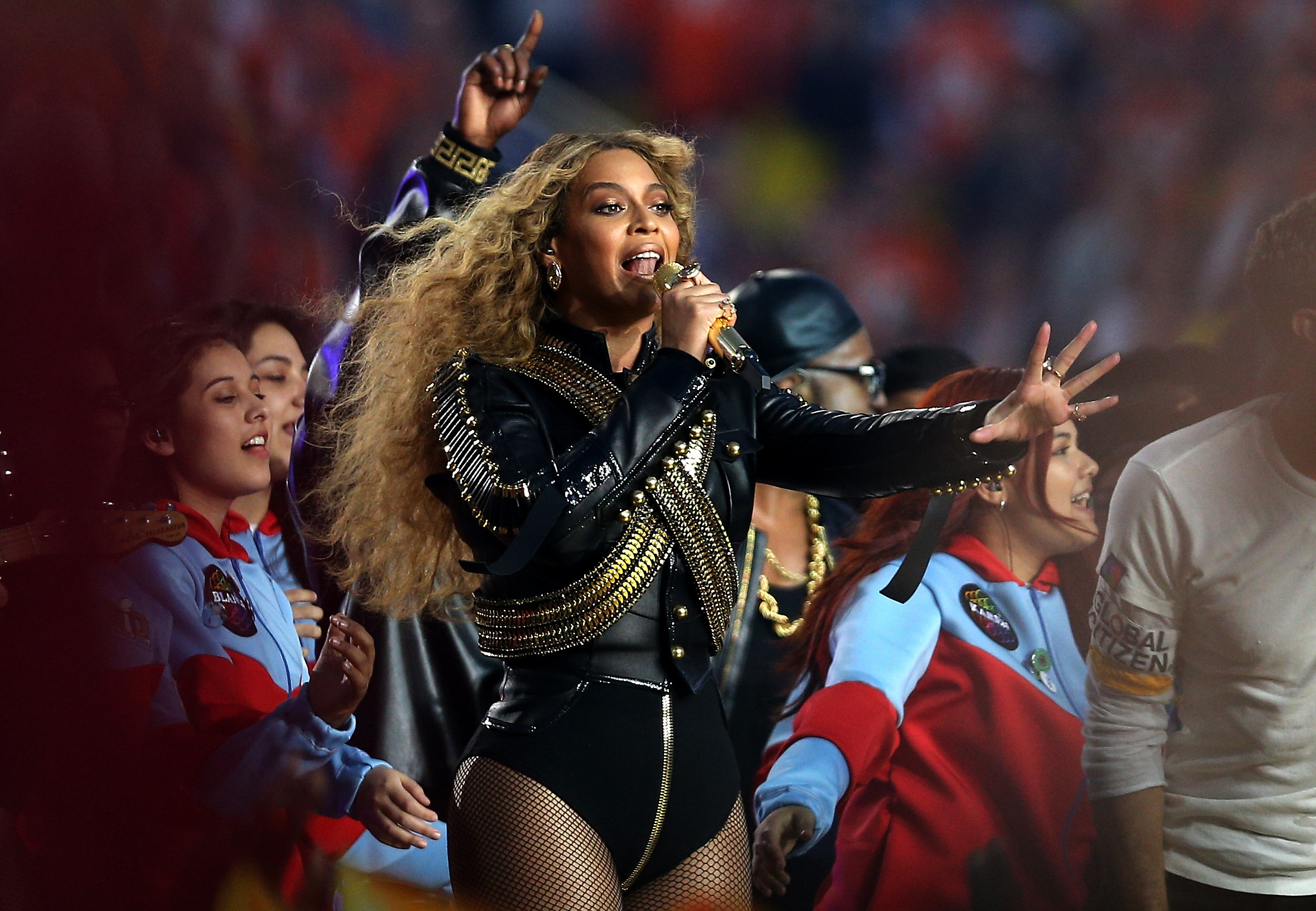 Beyoncé performs during the Pepsi Super Bowl 50 Halftime Show at Levi's Stadium in Santa Clara, Calif., on Feb. 7, 2016