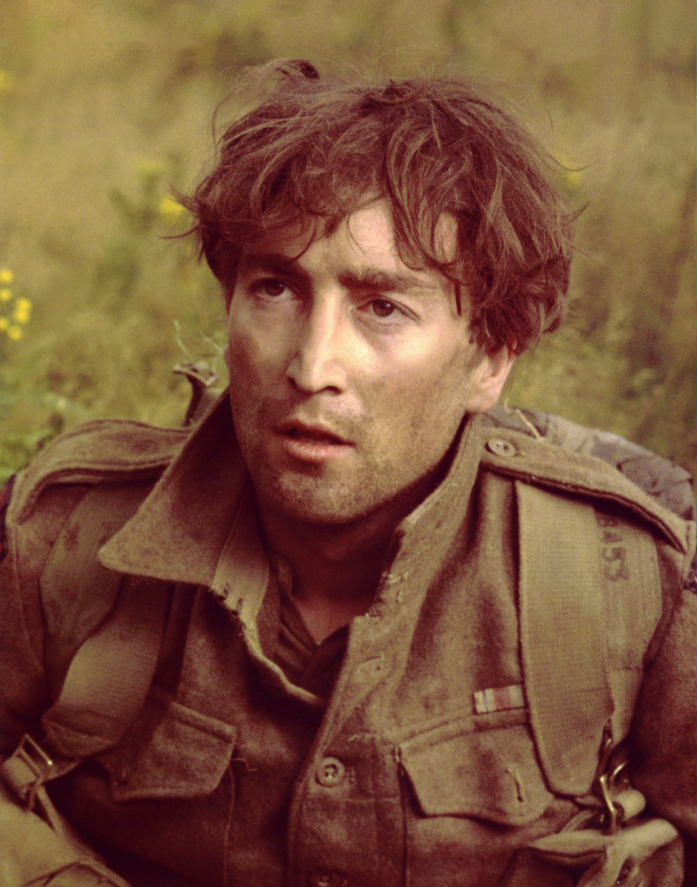 Musician turned actor John Lennon in a still from the movie  How I Won The War  which was released on October 23, 1967