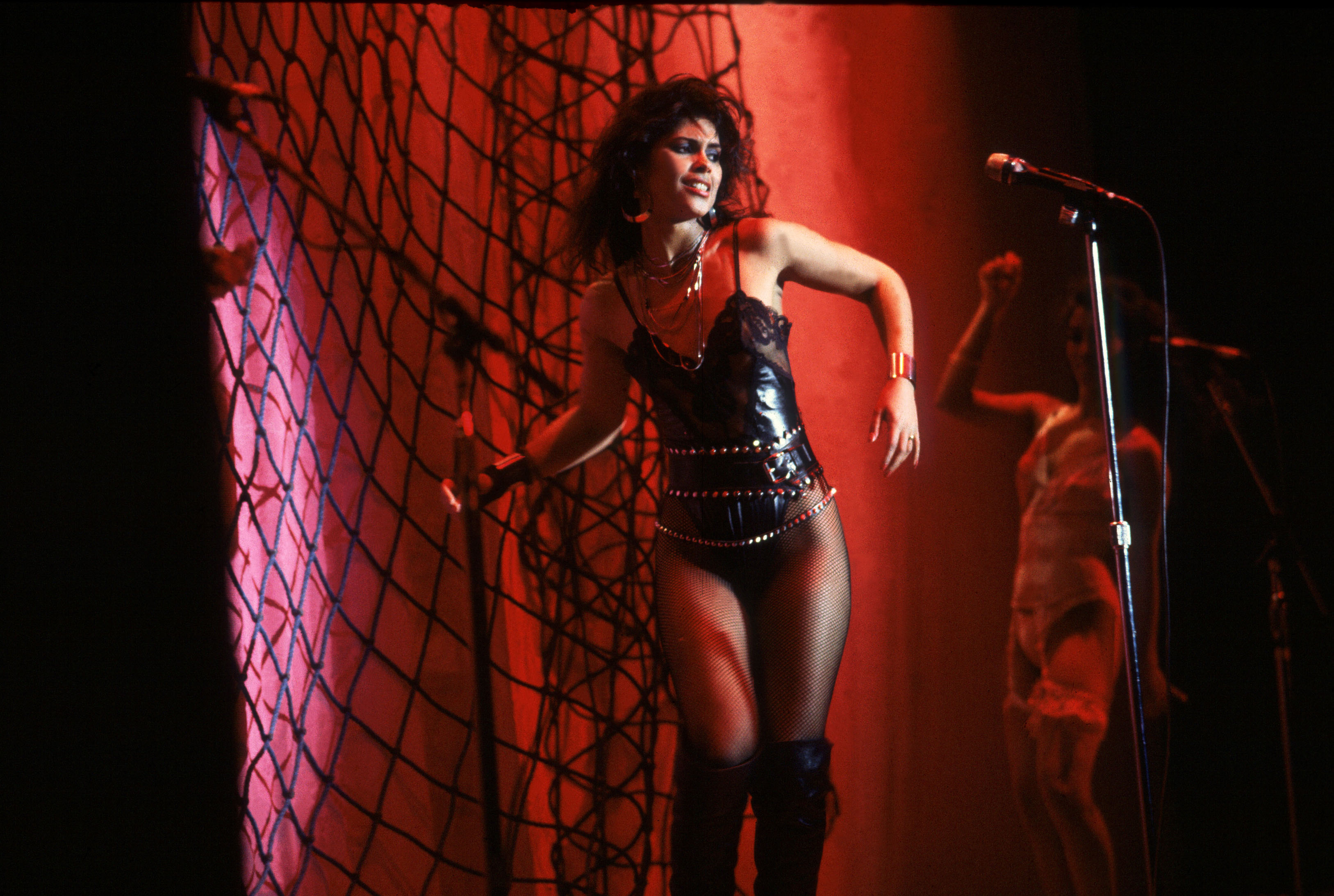 Vanity 6 on Sept. 12 1982 in Chicago, Il.