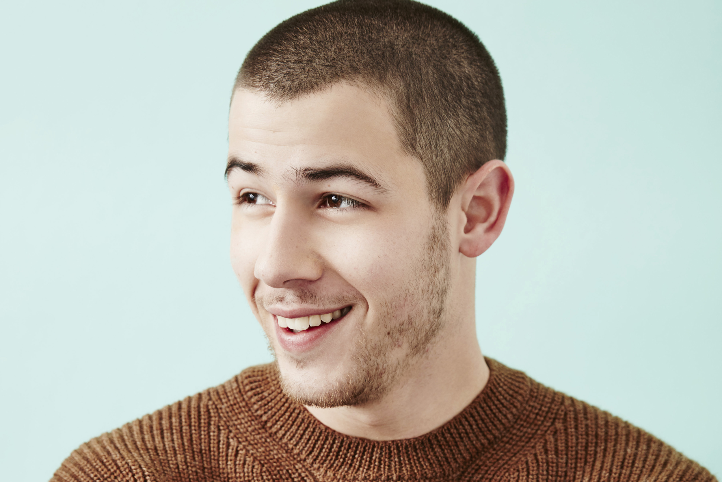 Nick Jonas of 'Goat' poses at the 2016 Sundance Film Festival Getty Images Portrait in Park City, Utah on Jan. 22, 2016.