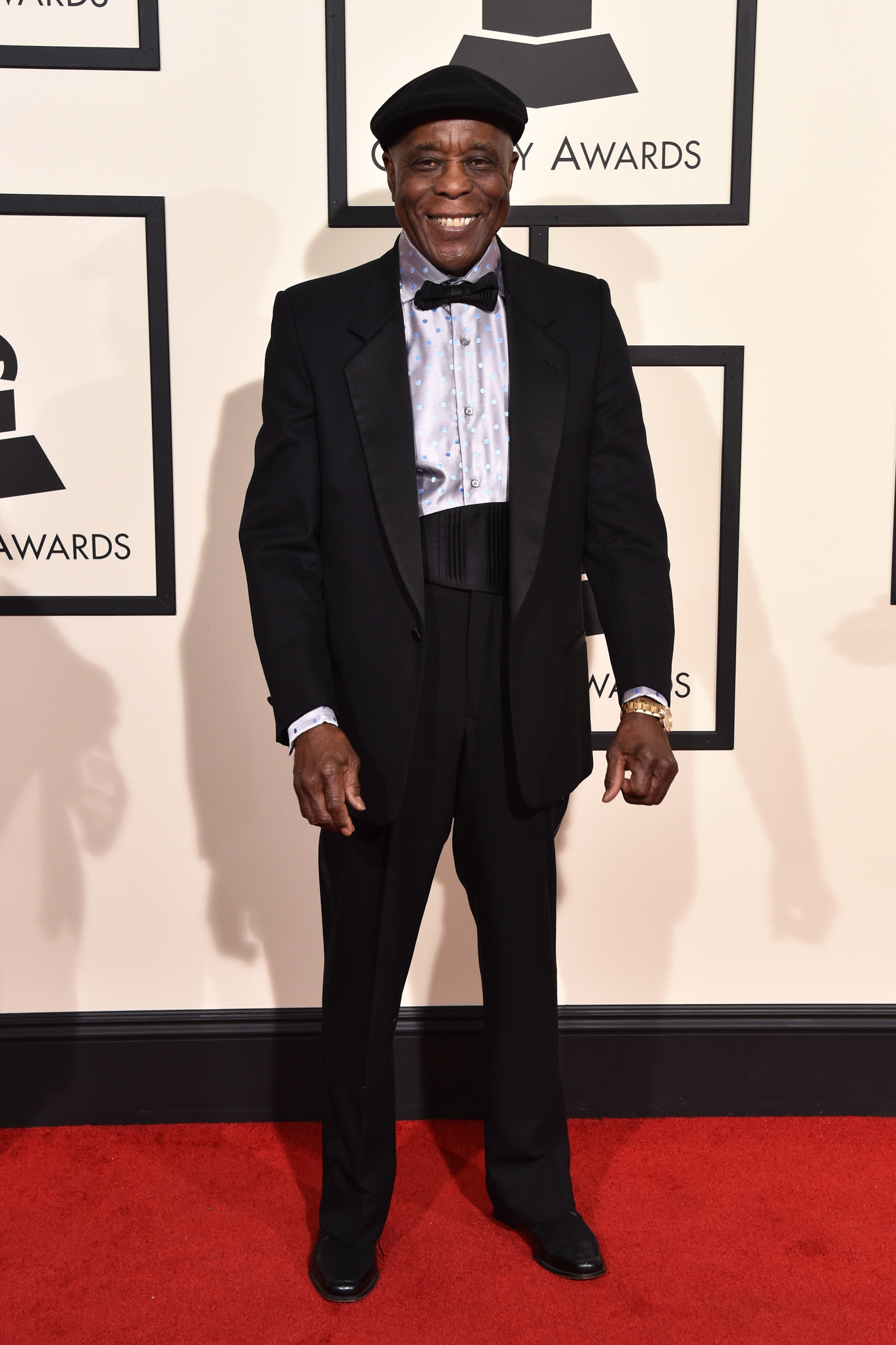 Buddy Guy attends the 58th GRAMMY Awards at Staples Center on Feb. 15, 2016 in Los Angeles.