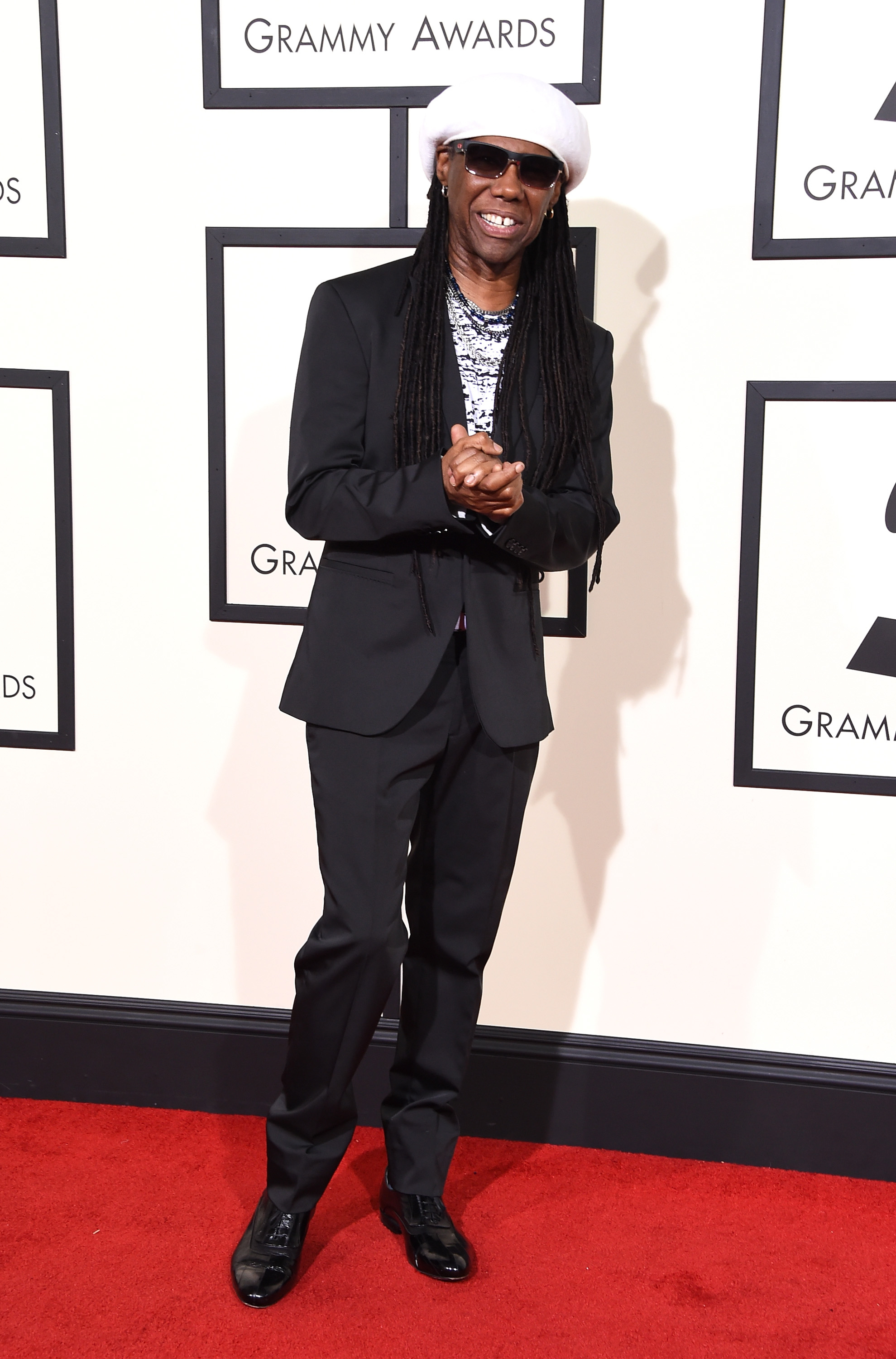 Nile Rodgers attends the 58th GRAMMY Awards at Staples Center on Feb. 15, 2016 in Los Angeles.