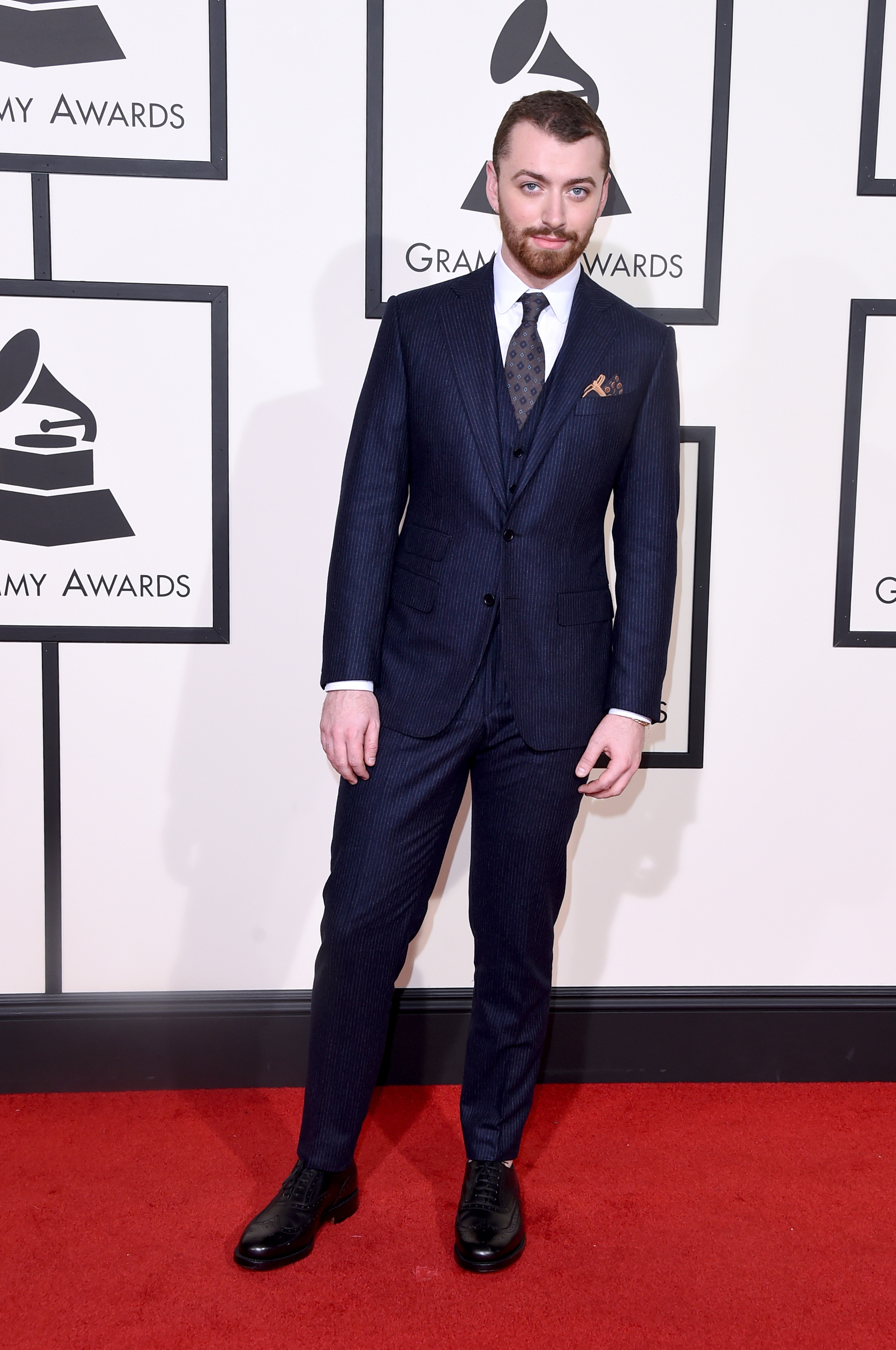 Sam Smith attends the 58th GRAMMY Awards at Staples Center on Feb. 15, 2016 in Los Angeles.