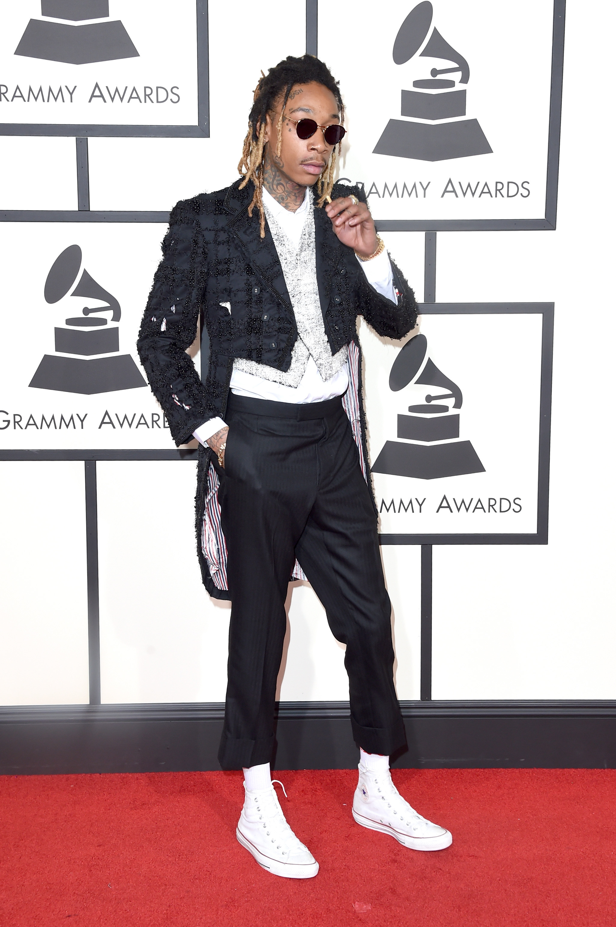 Wiz Khalifa attends the 58th GRAMMY Awards at Staples Center on Feb. 15, 2016 in Los Angeles.