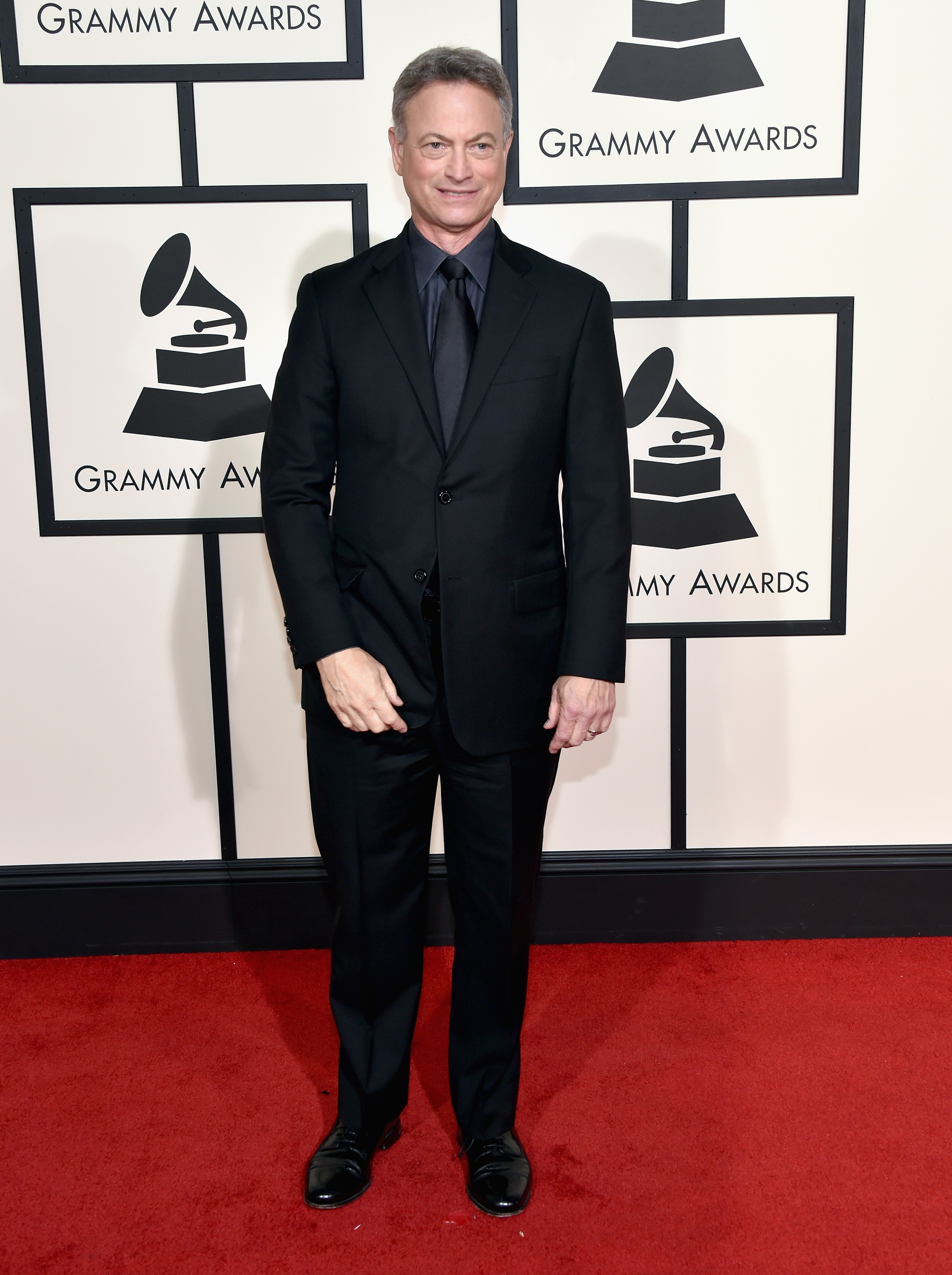 Gary Sinise attends the 58th GRAMMY Awards at Staples Center on Feb. 15, 2016 in Los Angeles.