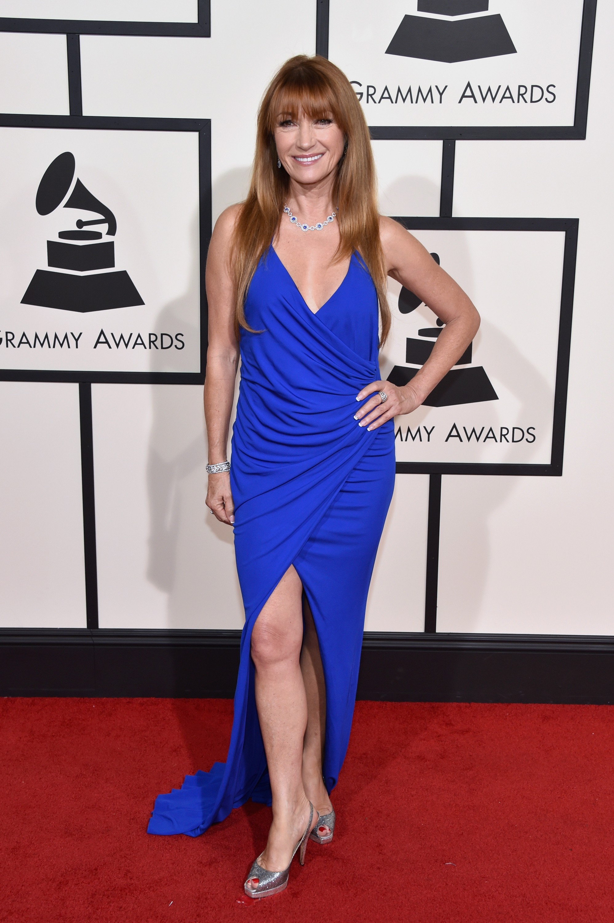 Jane Seymour attends the 58th GRAMMY Awards at Staples Center on Feb. 15, 2016 in Los Angeles.
