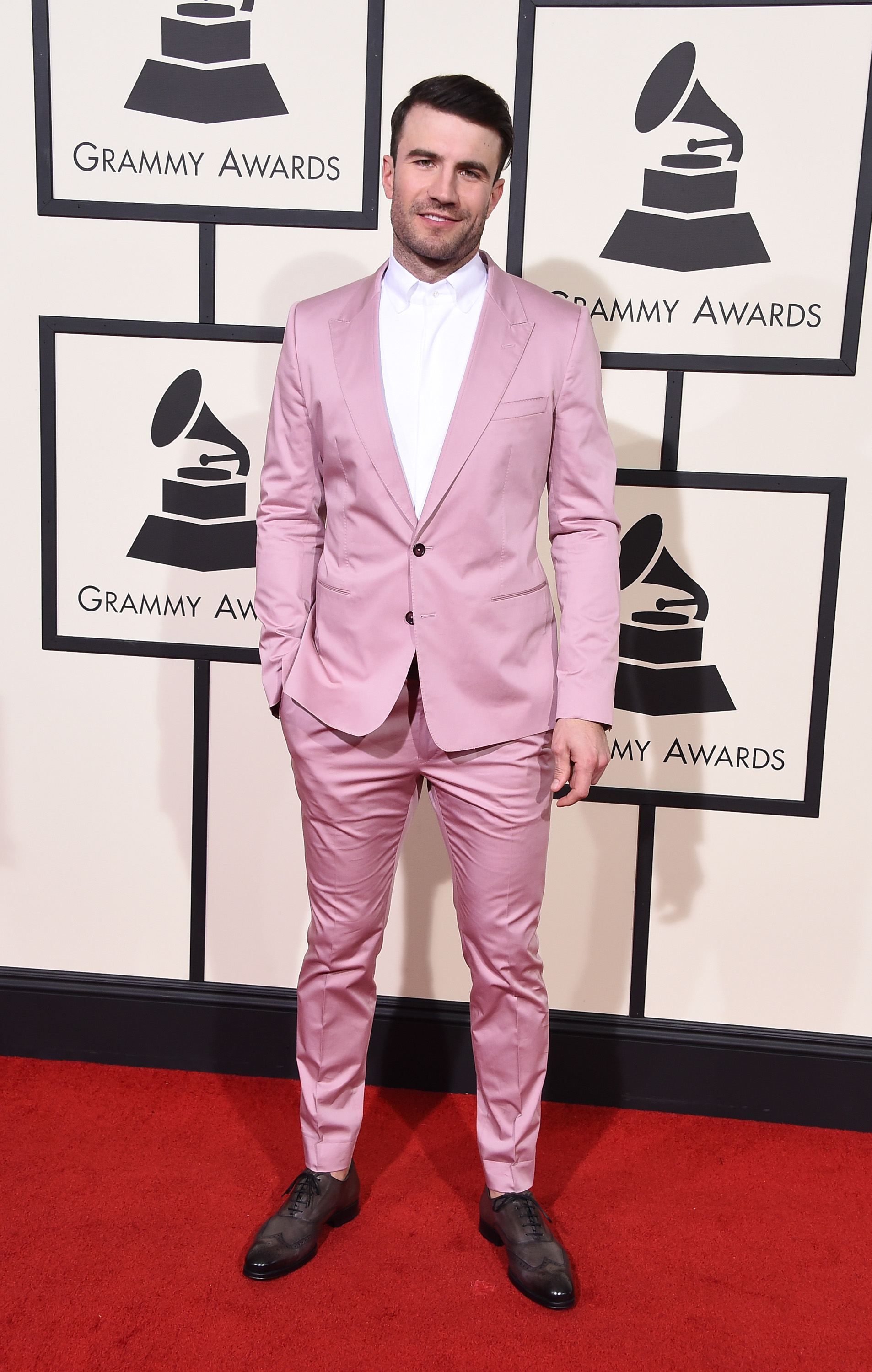 Sam Hunt attends the 58th GRAMMY Awards at Staples Center on Feb. 15, 2016 in Los Angeles.