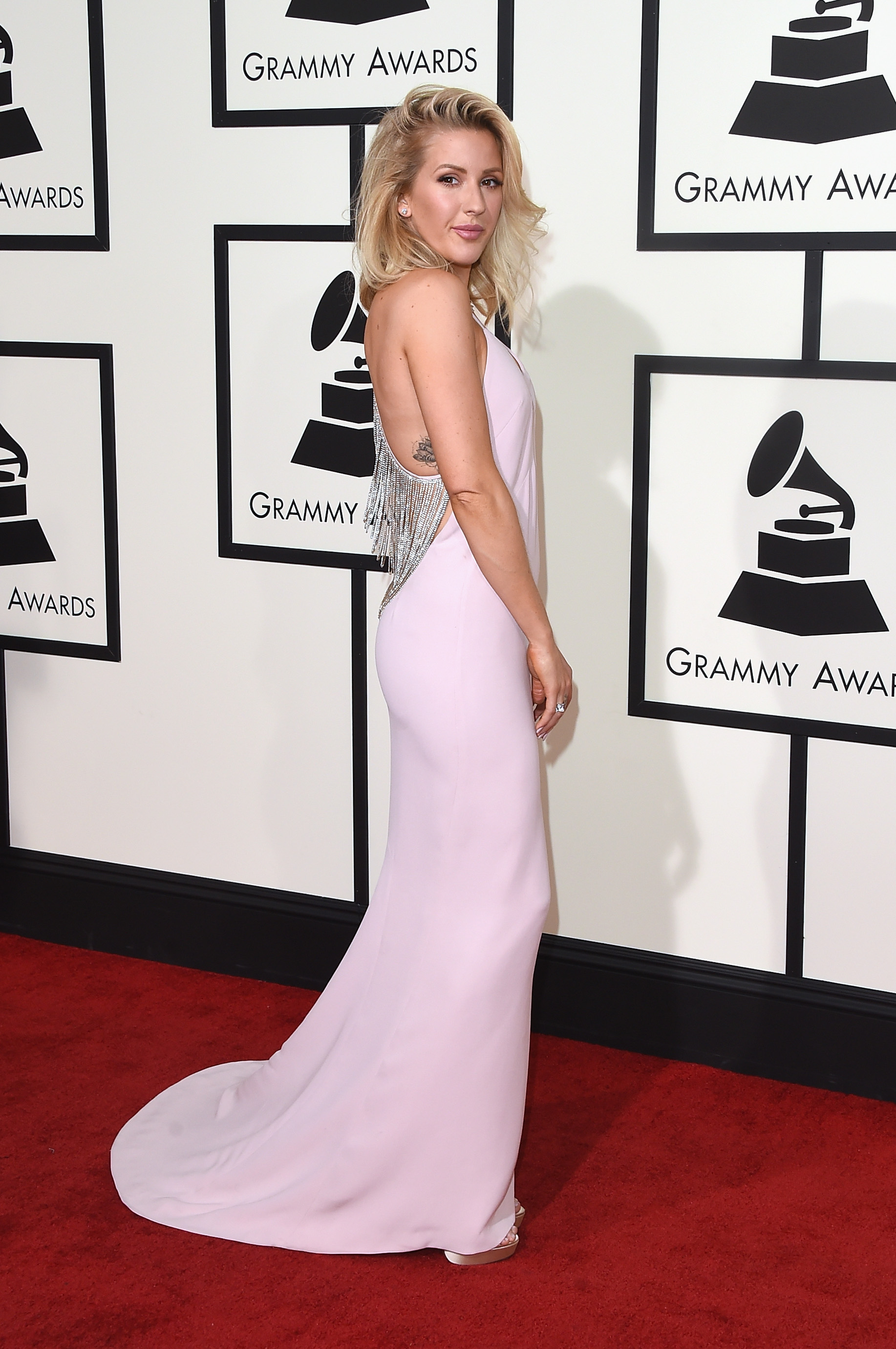 Ellie Goulding attends the 58th GRAMMY Awards at Staples Center on Feb. 15, 2016 in Los Angeles.