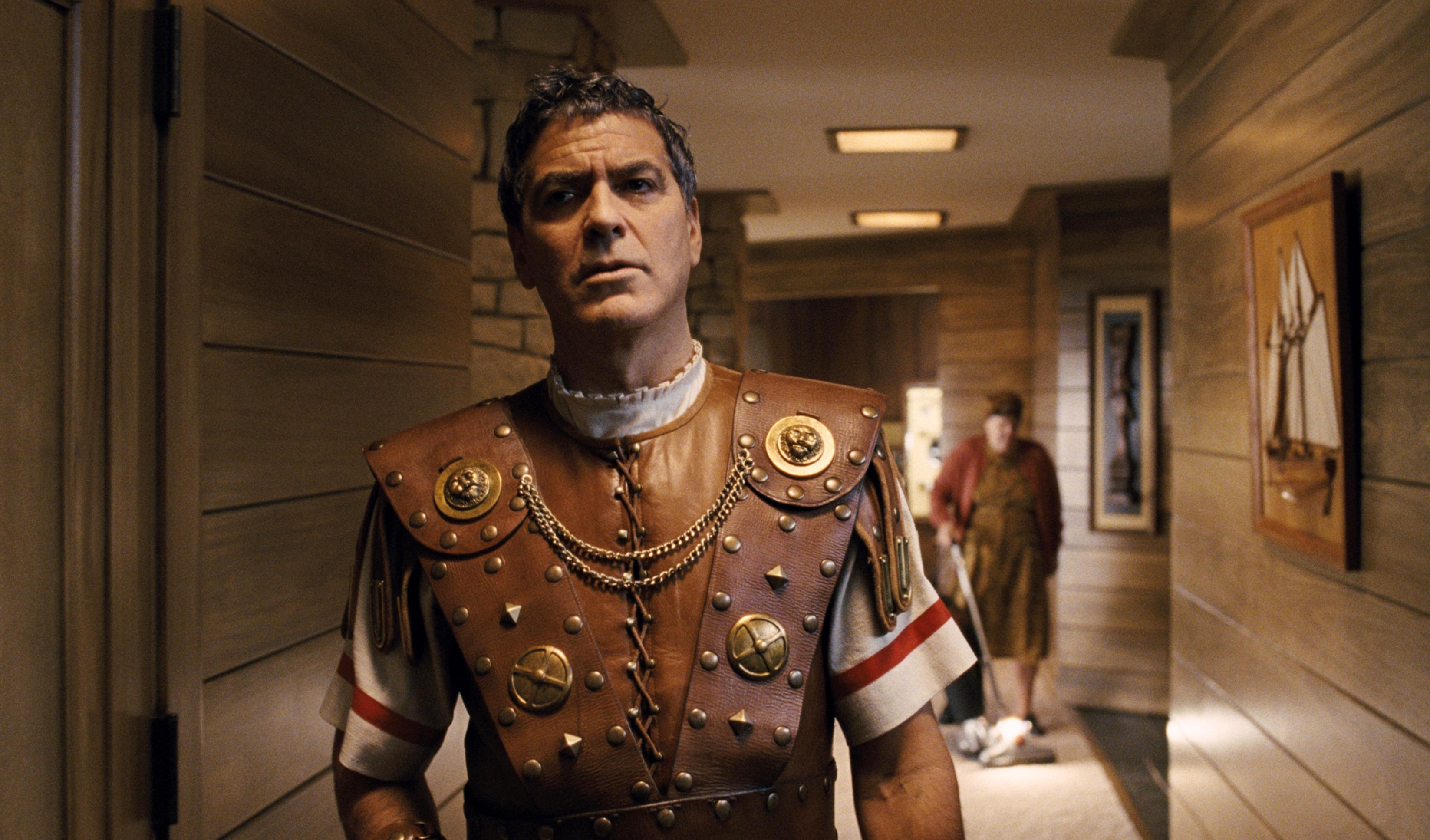 George Clooney, as Baird Whitlock, in Hail, Caesar!