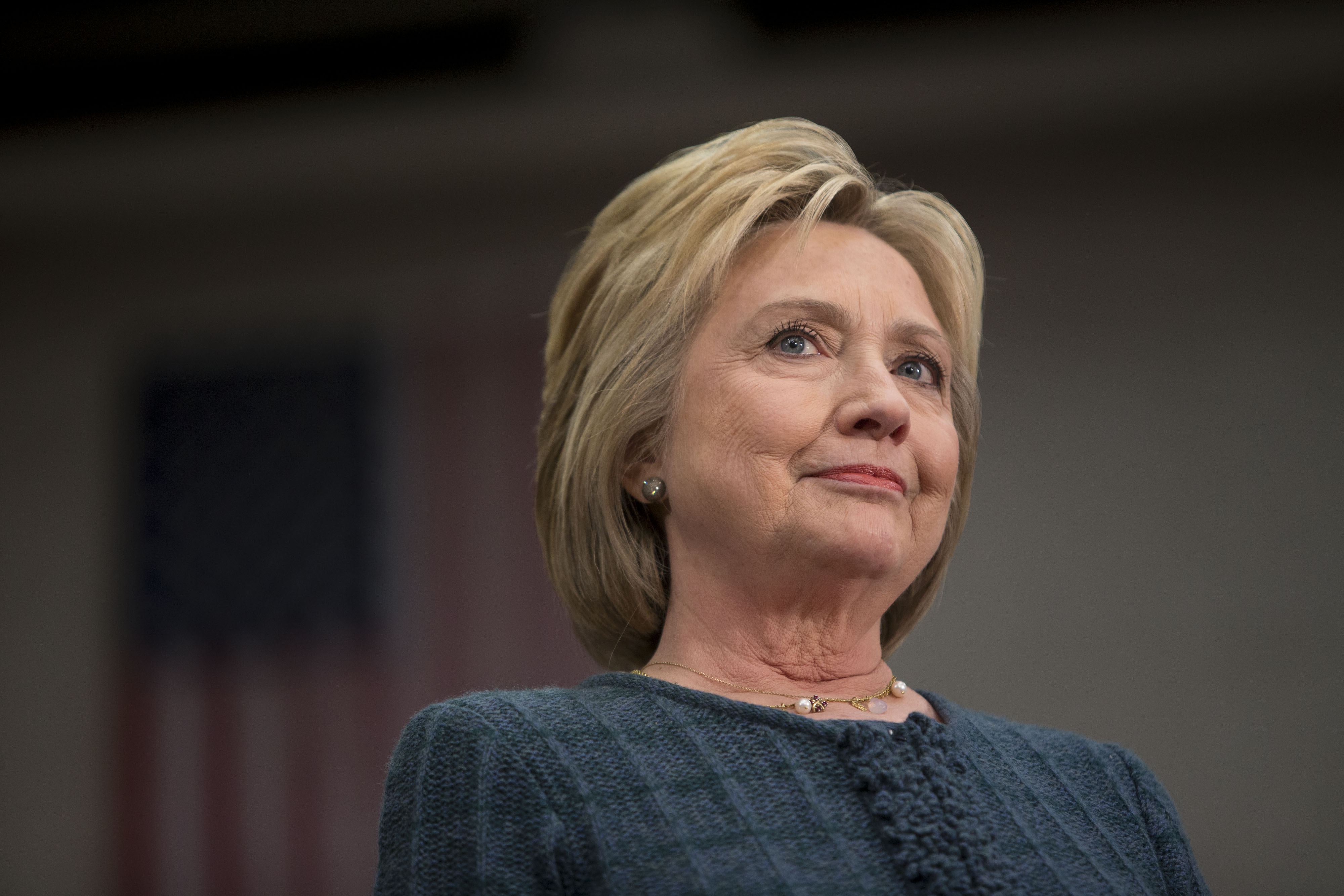 Hillary Clinton at a campaign event in Concord, N.H. on Feb. 6, 2016.