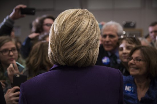 After the narrowest possible victory in Iowa, Clinton faces another challenge from Senator Bernie Sanders in New Hampshire