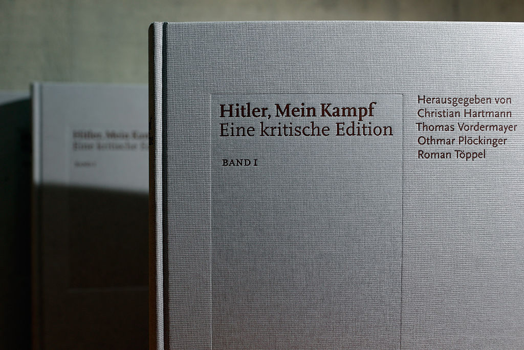 The new edition of Adolf Hitler's  Mein Kampf  augments Hitler's original text with critical analysis.