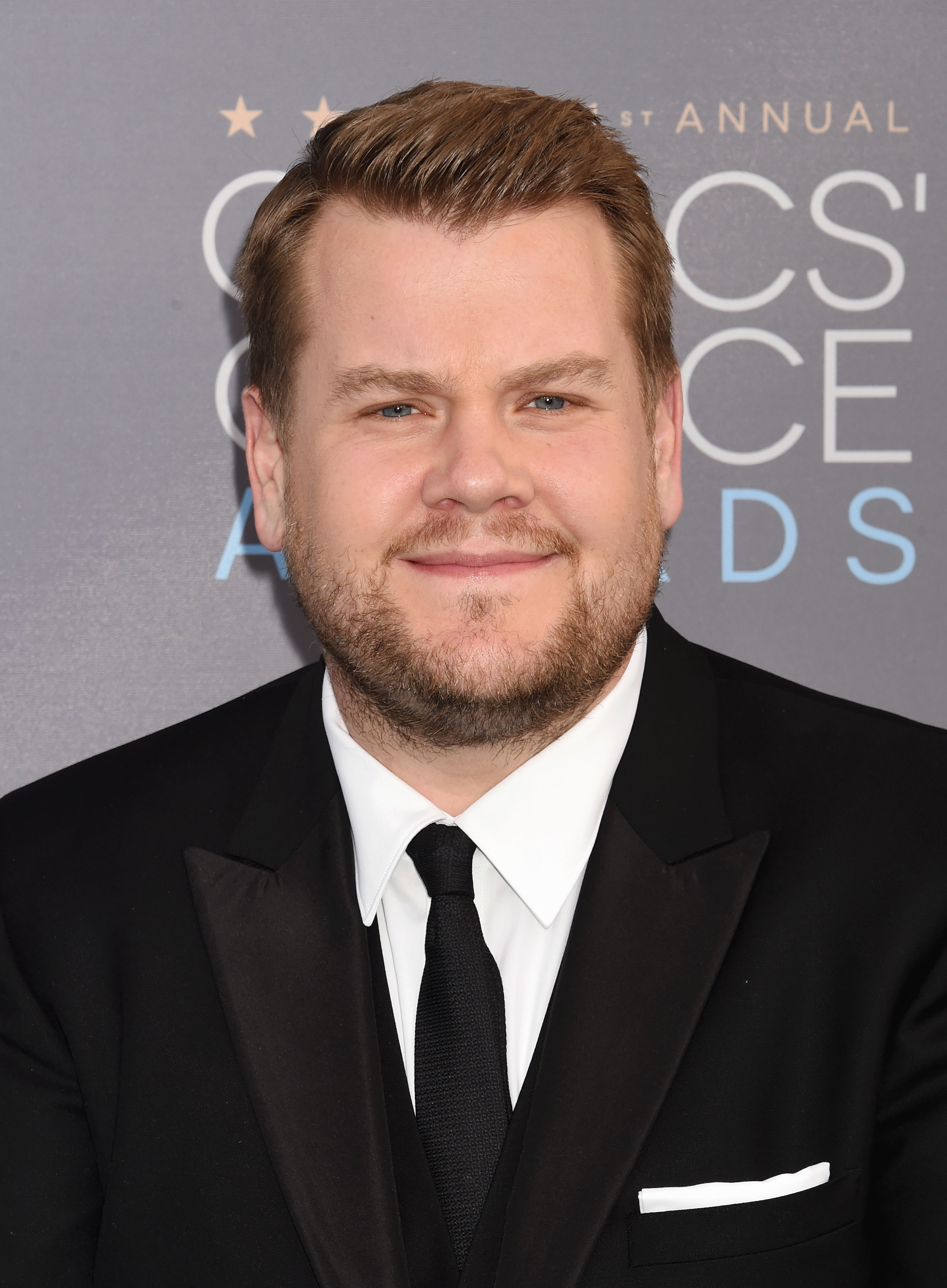 Actor/TV persoanlity James Corden attends the 21st Annual Critics' Choice Awards at Barker Hangar on January 17, 2016 in Santa Monica, California.