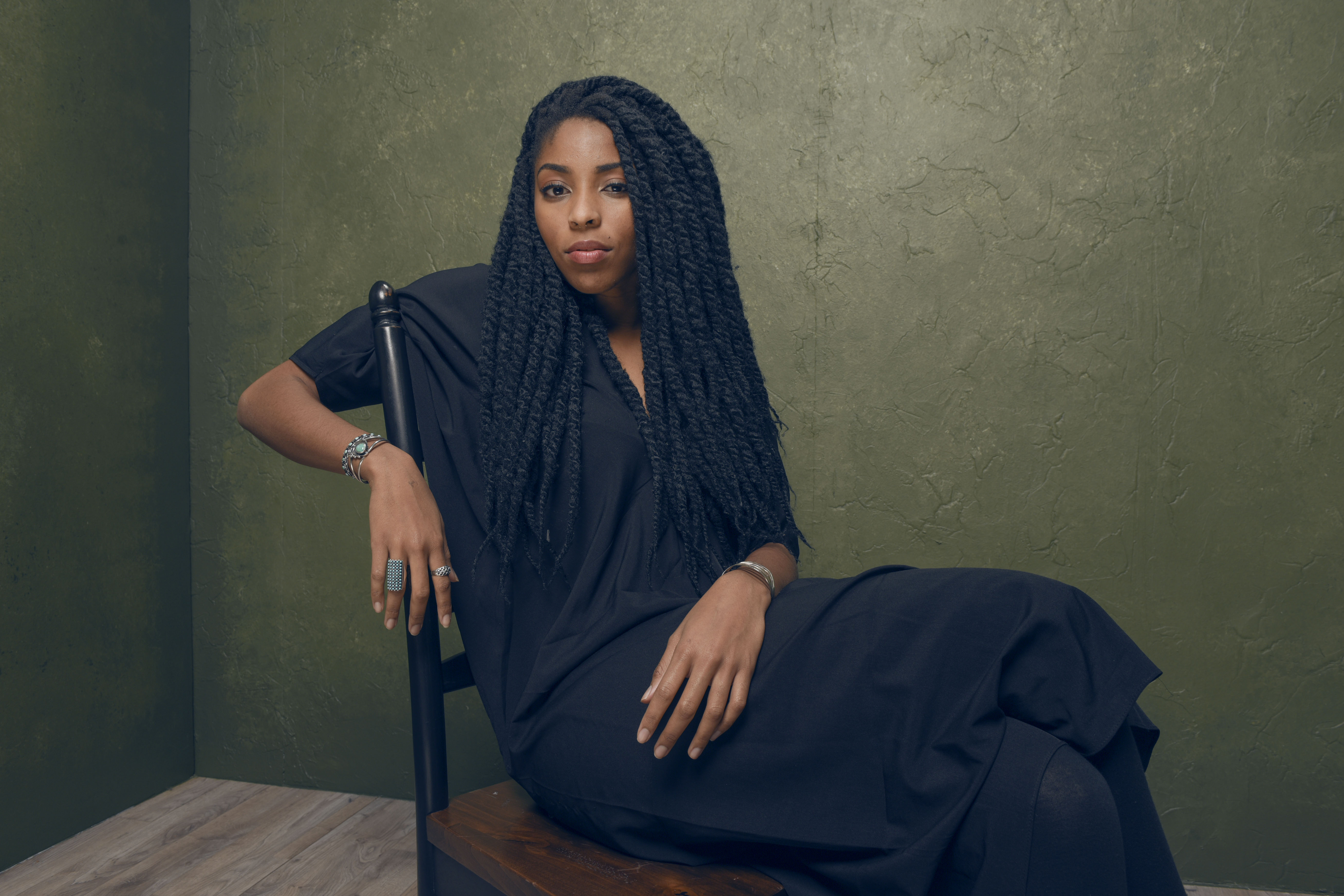 Actress Jessica Williams of 'People, Places, Things' poses for a portrait at the Village at the Lift Presented by McDonald's McCafe during the 2015 Sundance Film Festival on January 26, 2015 in Park City, Utah.
