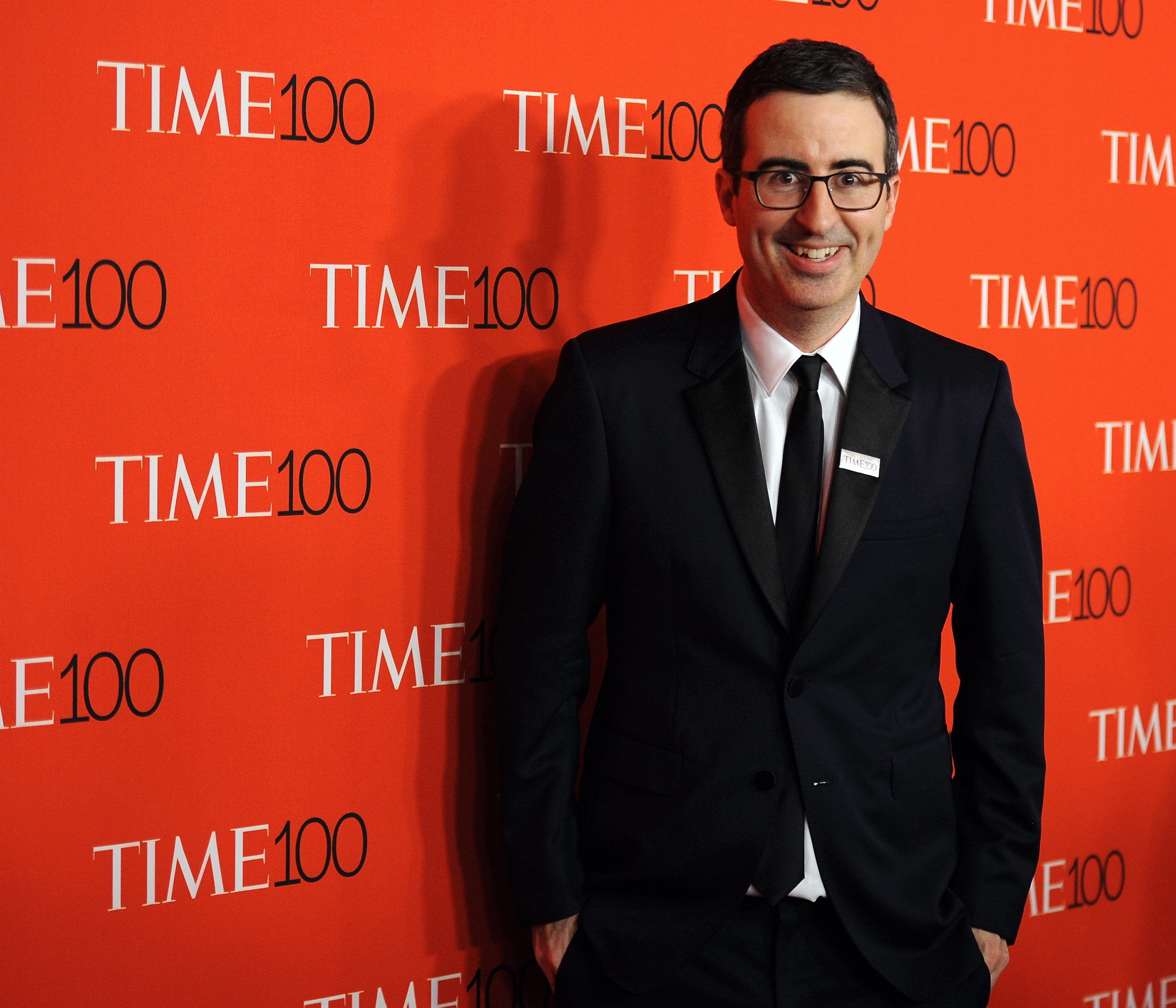 John Oliver attends the 2015 Time 100 Gala at Frederick P. Rose Hall, Jazz at Lincoln Center on April 21, 2015 in New York City.