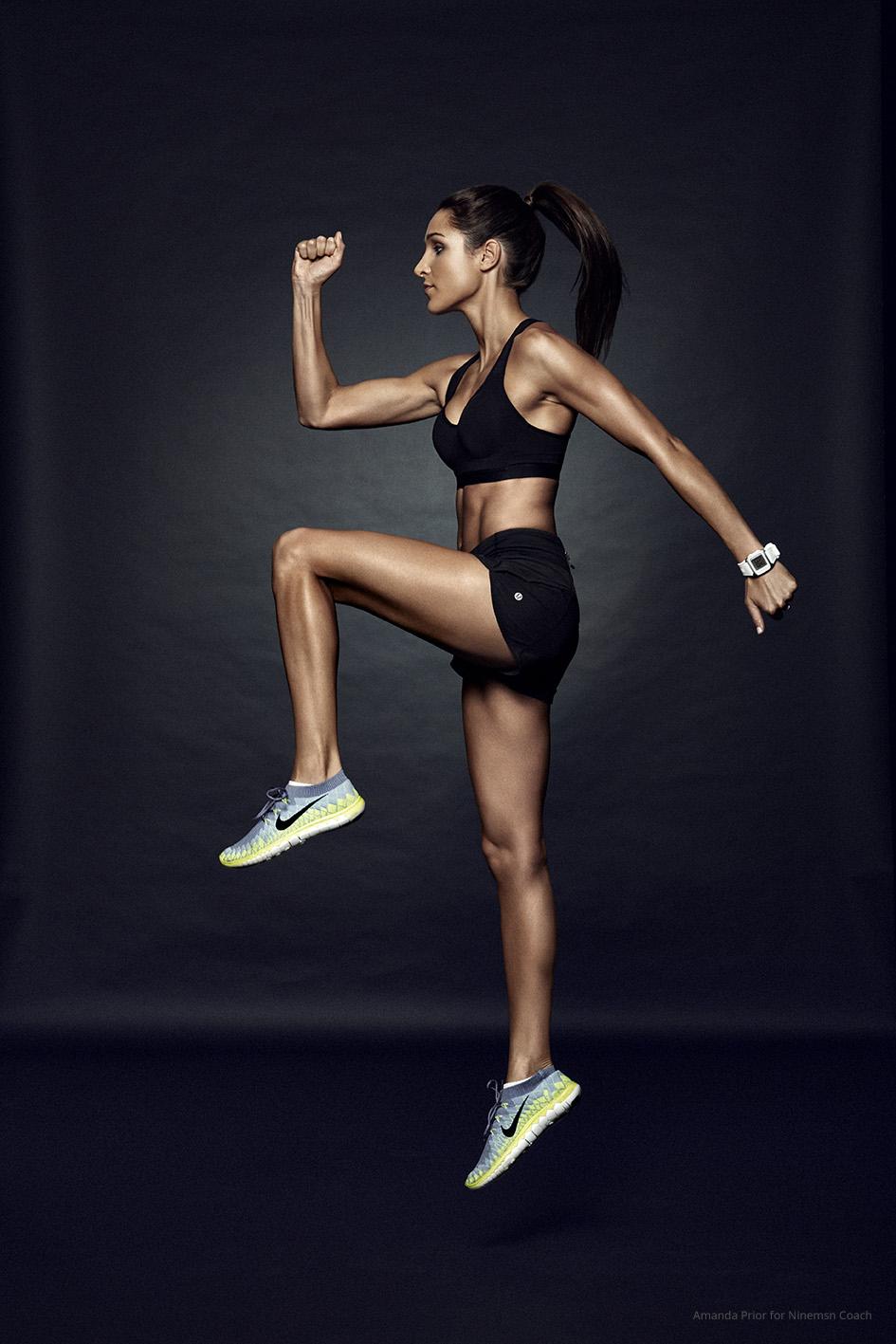 Kayla Itsines workout for Motto
