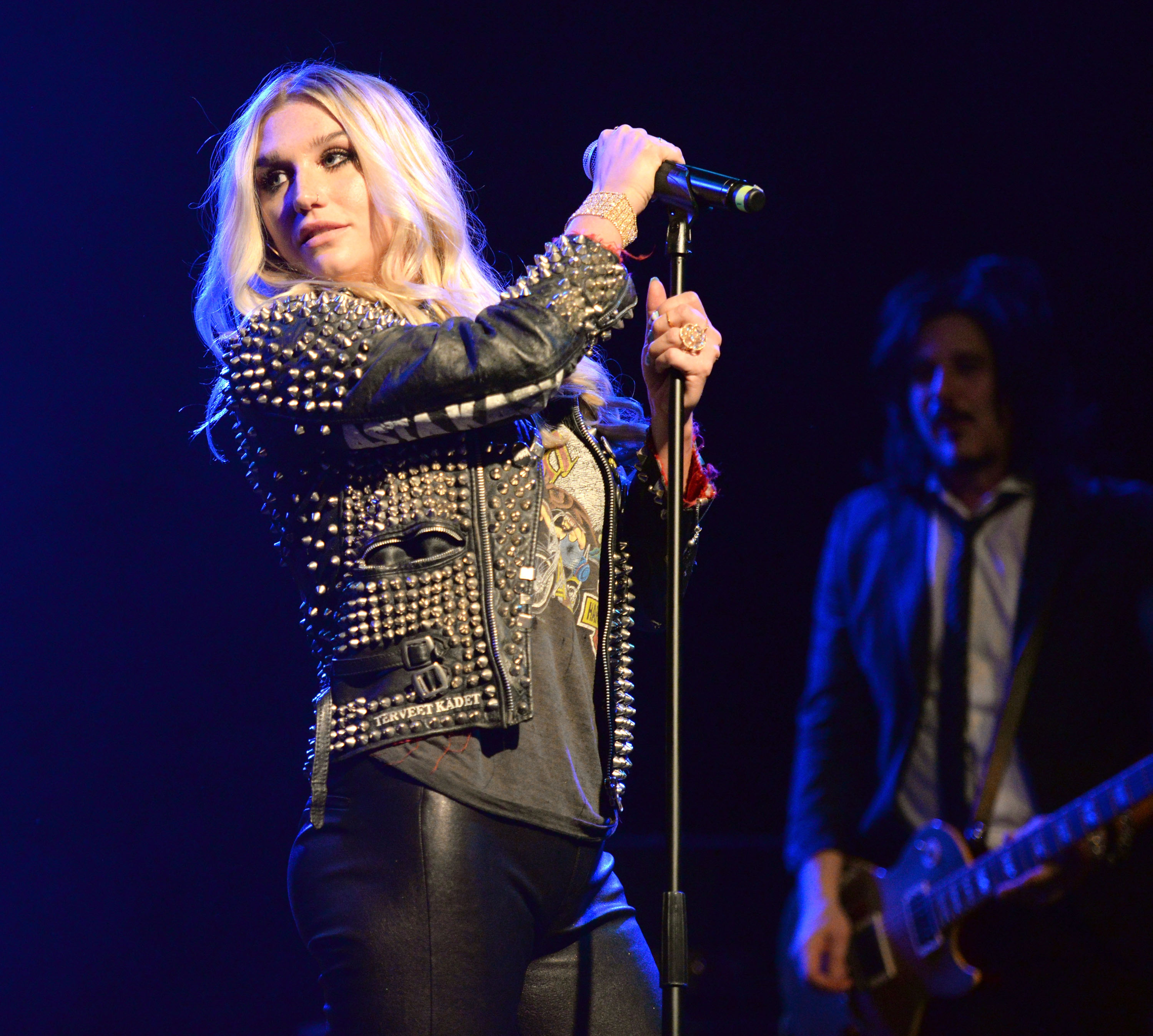 Kesha performs in Los Angeles on Nov. 3, 2015