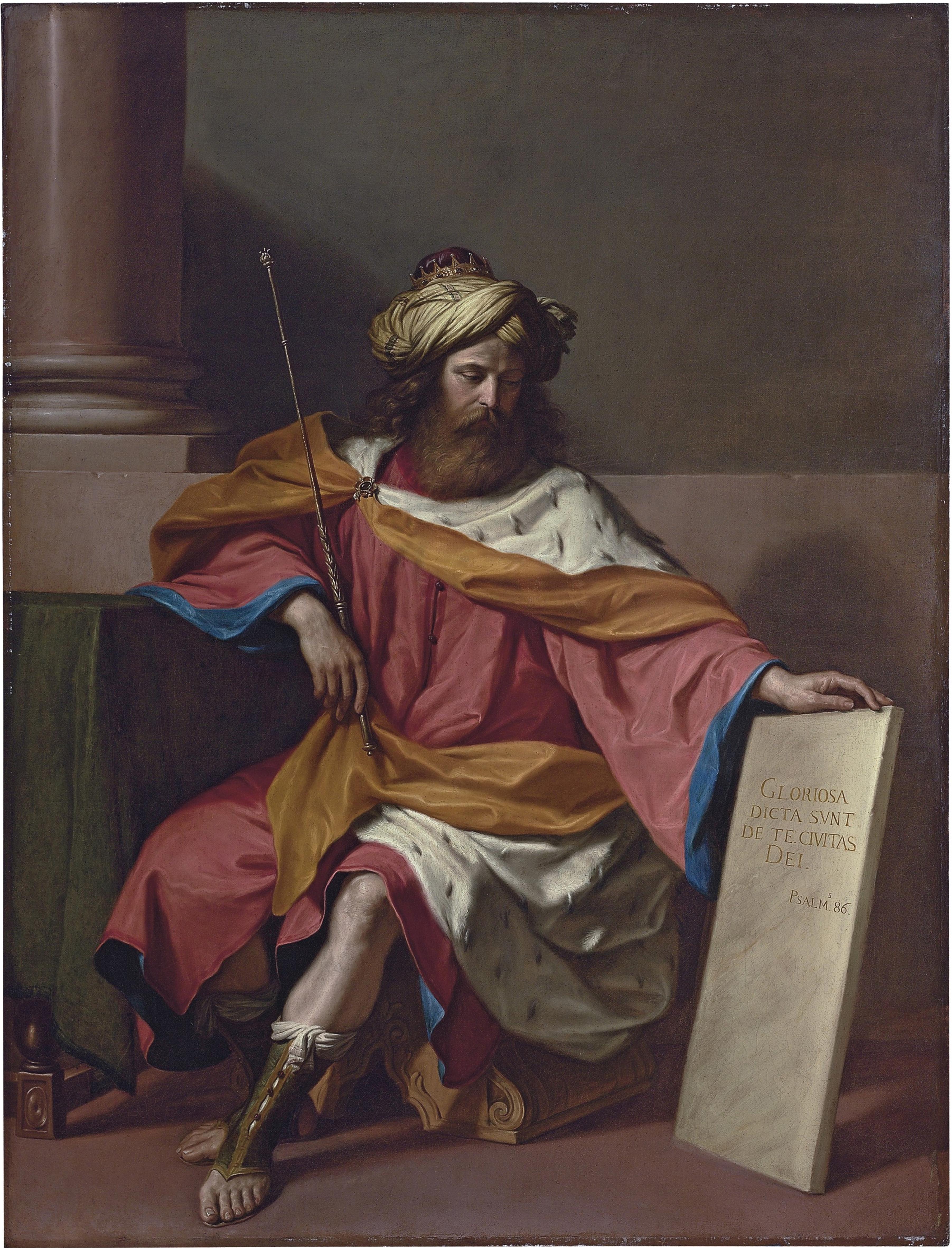 King David. Artist: Guercino (1591-1666)