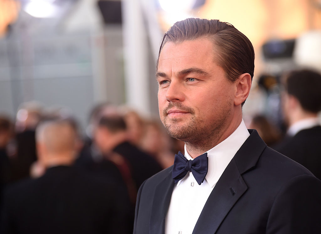 Leonardo DiCaprio at the Screen Actors Guild Awards on Jan. 30, 2016 in Los Angeles.