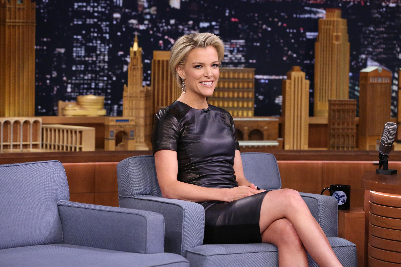 Journalist Megyn Kelly appears on 'The Tonight Show Starring Jimmy Fallon' on February 4, 2016.