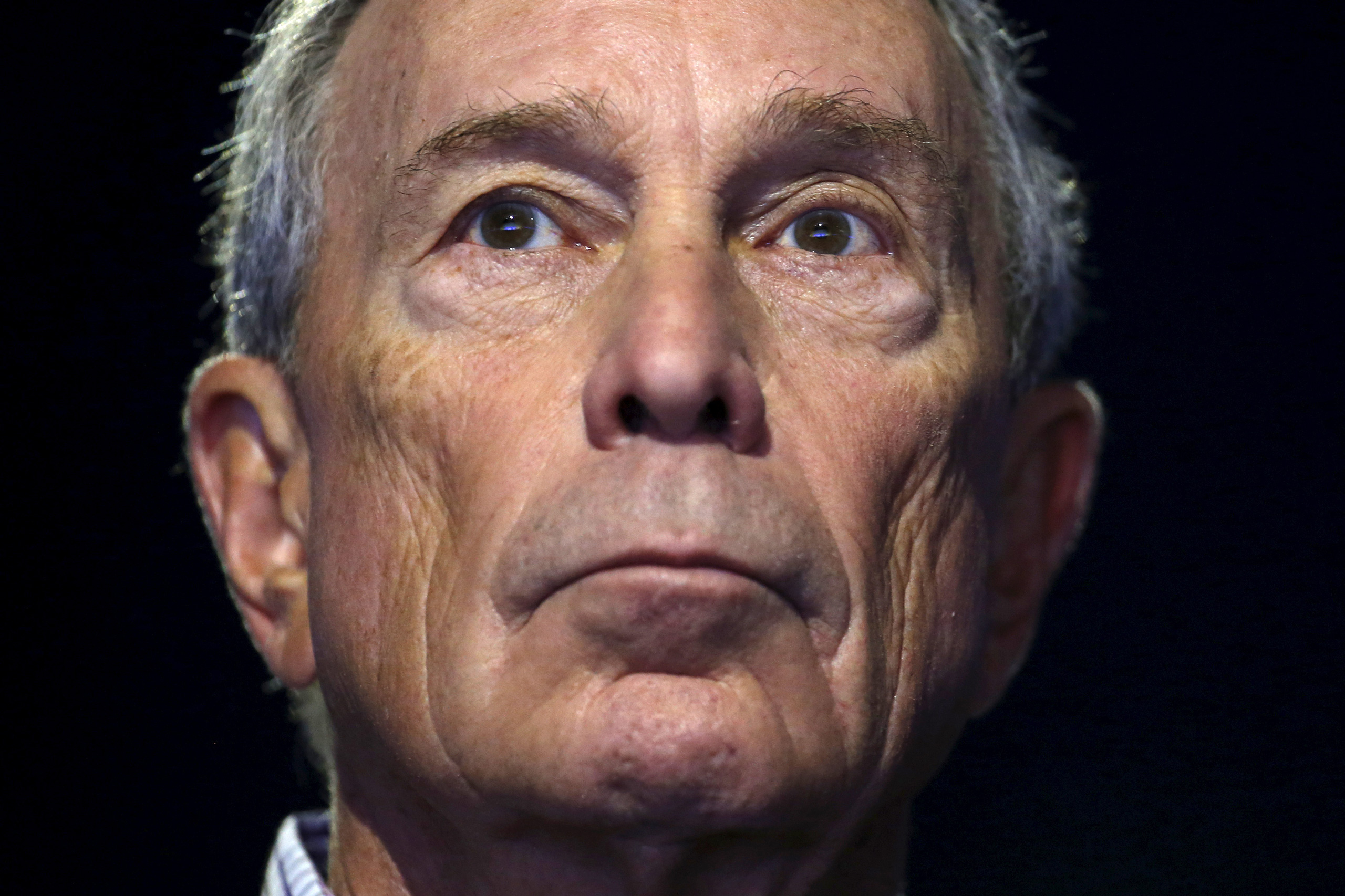 Former New York City Mayor Michael Bloomberg attends a meeting during the World Climate Change Conference 2015 (COP21) at Le Bourget, France, on Dec. 5, 2015