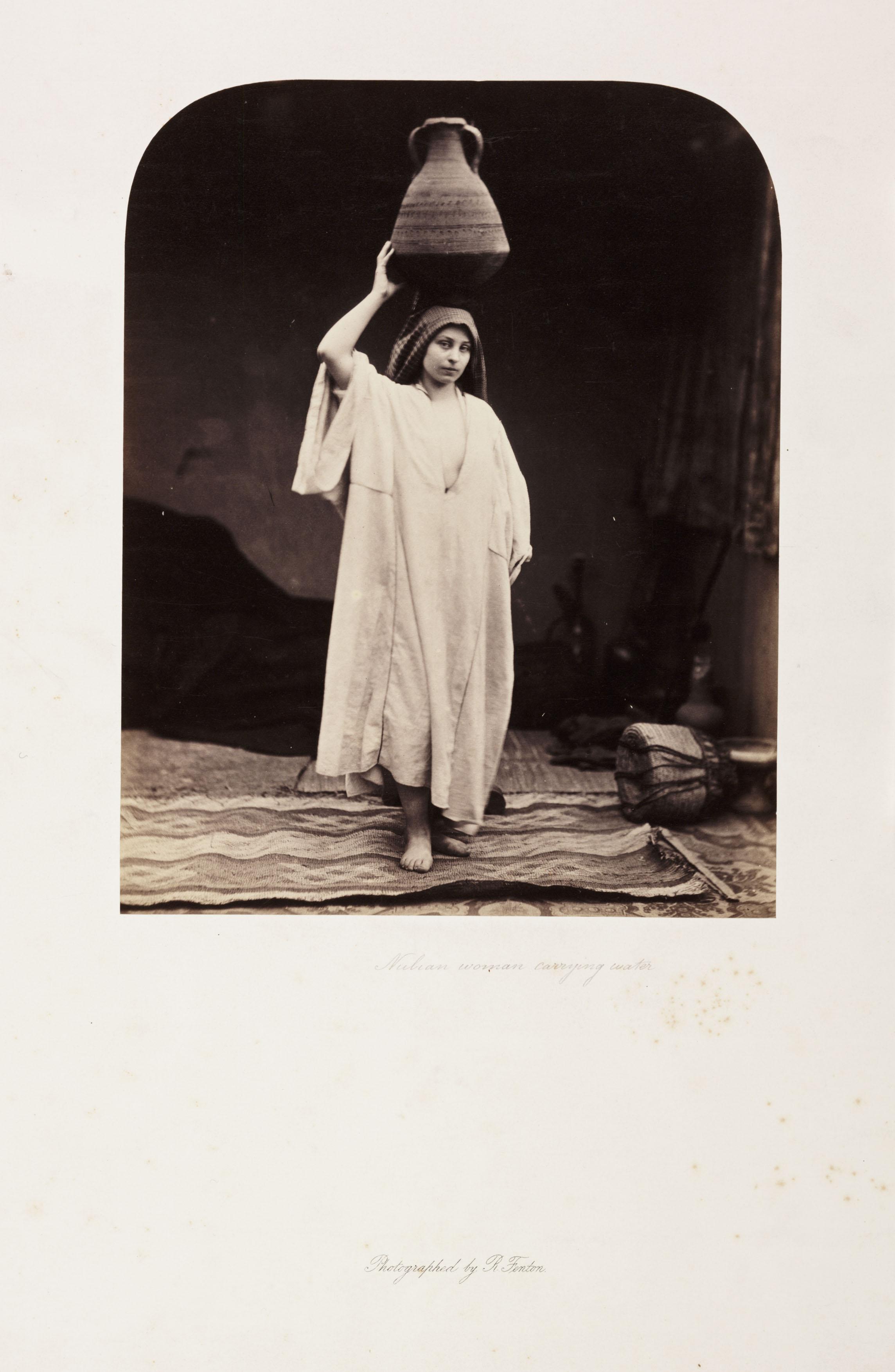 'Nubian Woman carrying water', 1858.