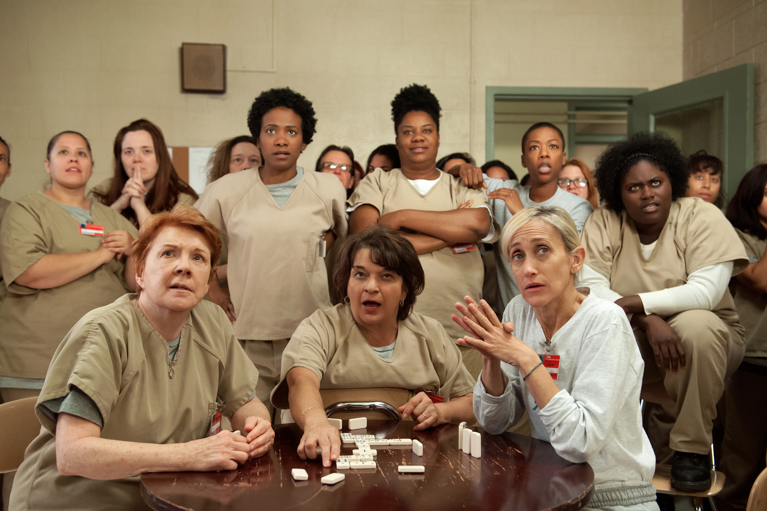 A scene from Season 3 of  Orange is the New Black