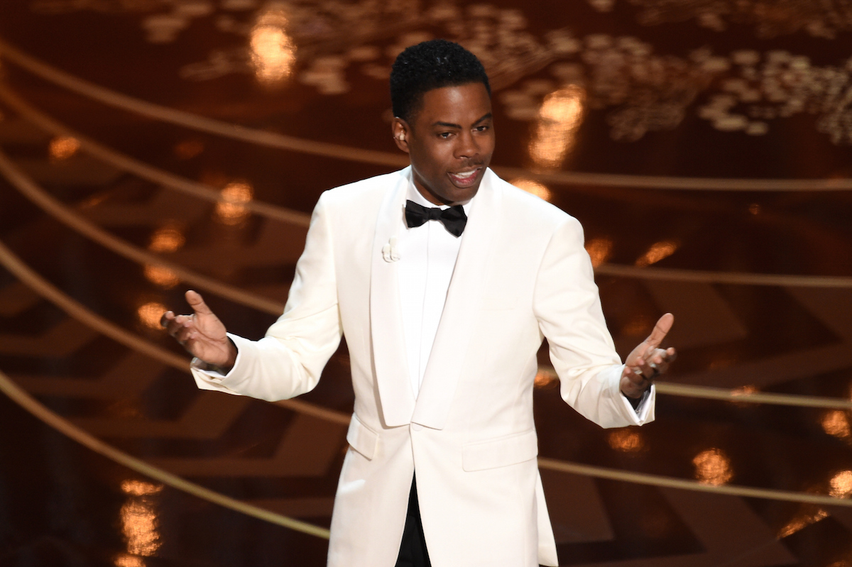 Host Chris Rock speaks onstage during the 88th Annual Academy Awards at the Dolby Theatre on Feb. 28, 2016 in Hollywood, Calif.