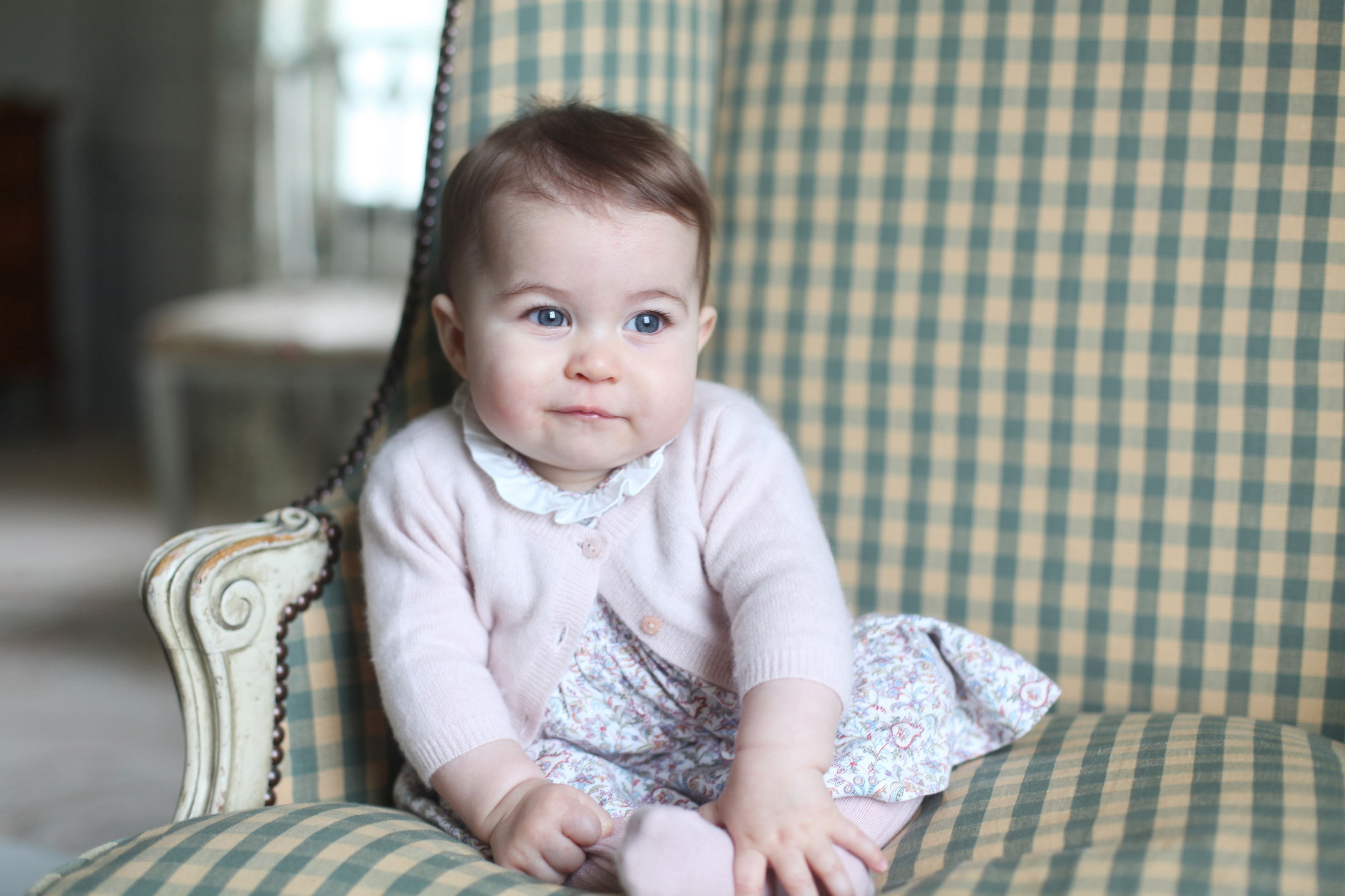 Princess Charlotte at Anmer Hall in Sandringham, UK in Nov. 2015.
