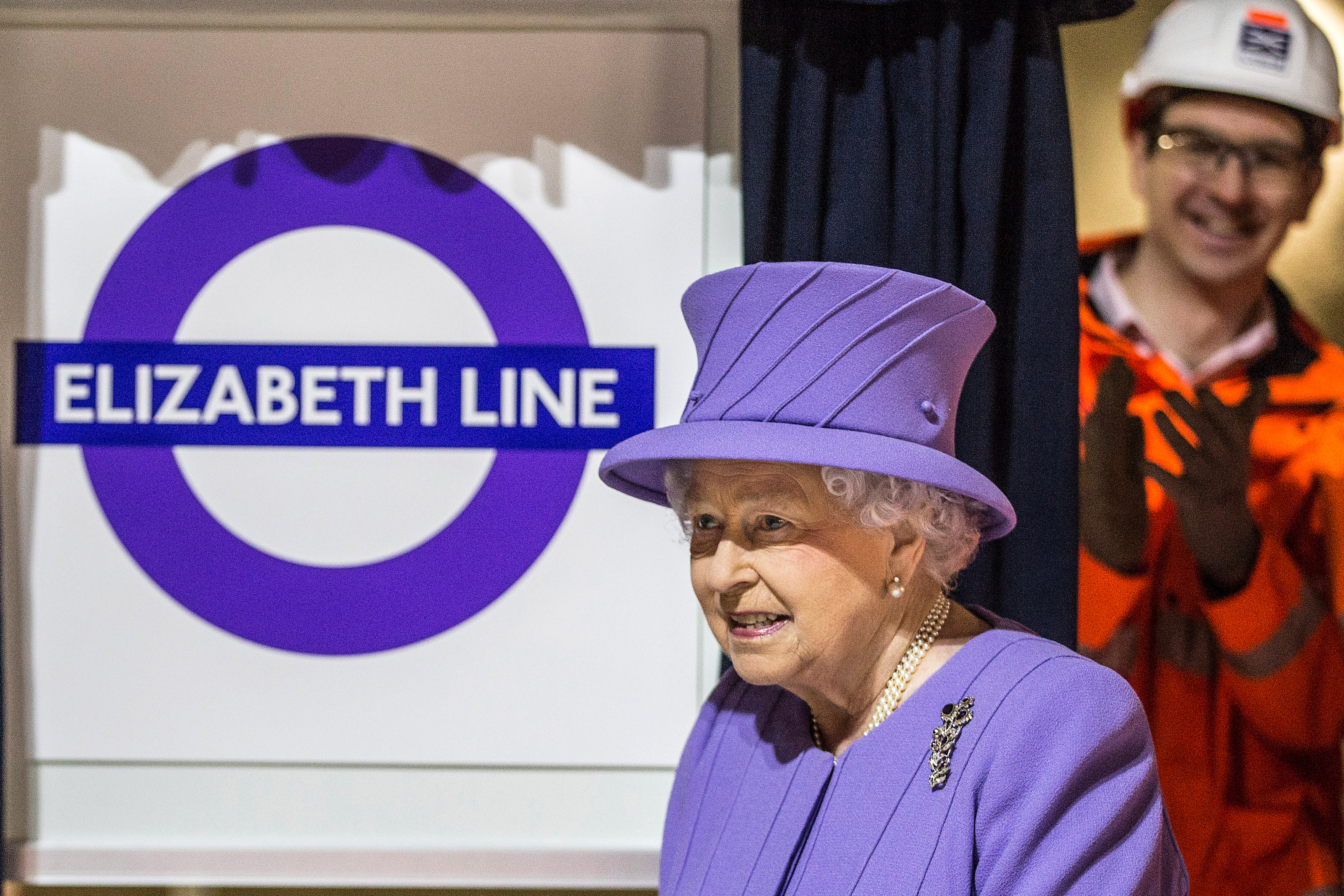 On February 23, 2016, Britain's Queen Elizabeth II visited the site of the new Crossrail Bond street station in central London, which is still under construction.