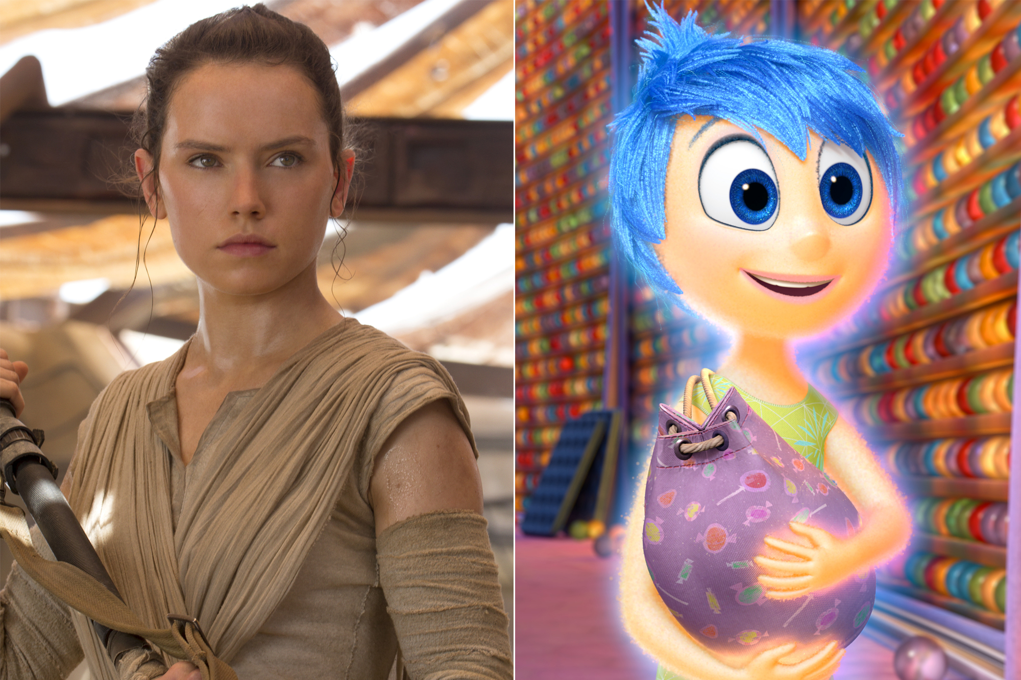 Rey and Joy.