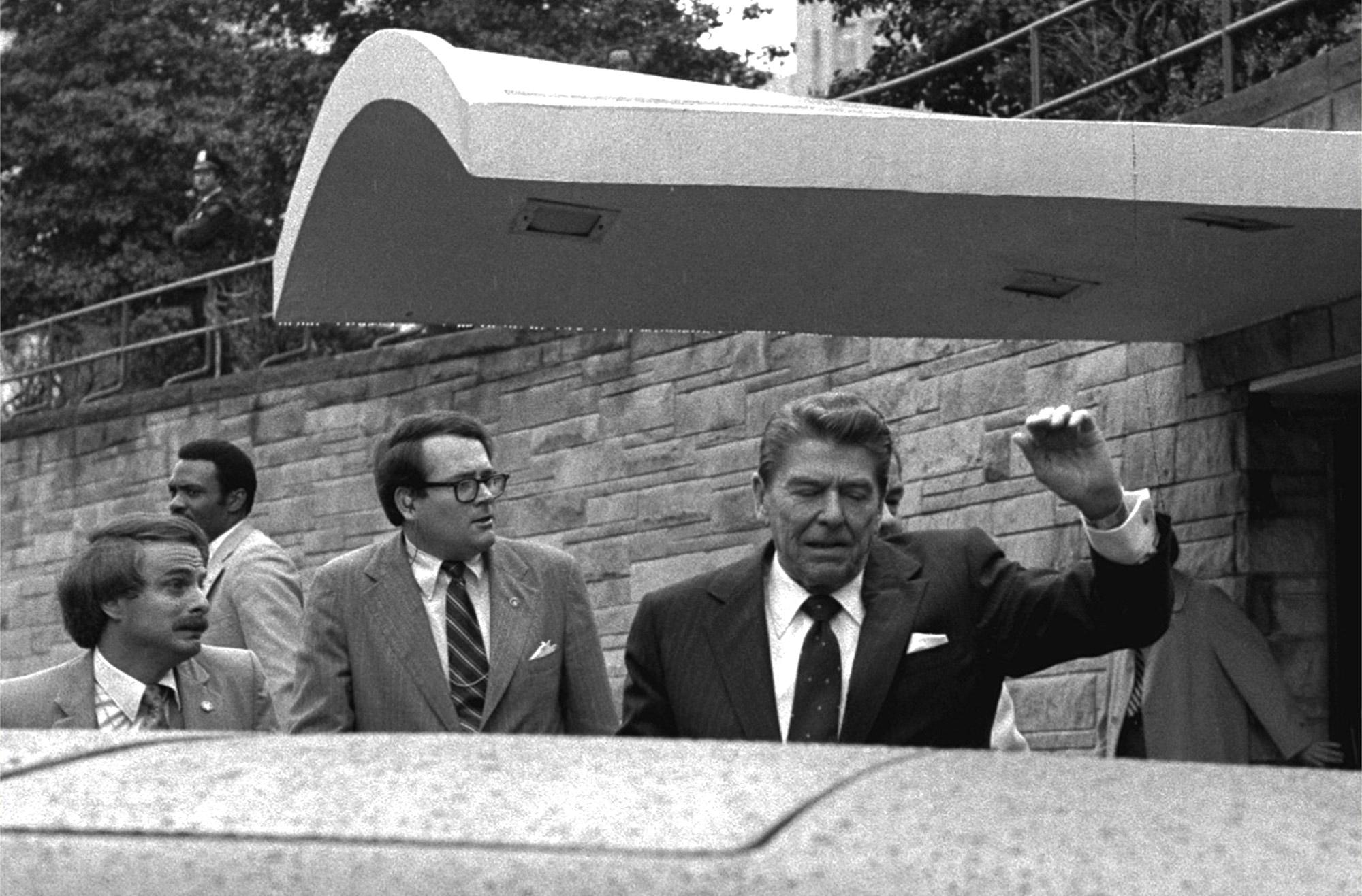 President Ronald Reagan assassination attempt 1981