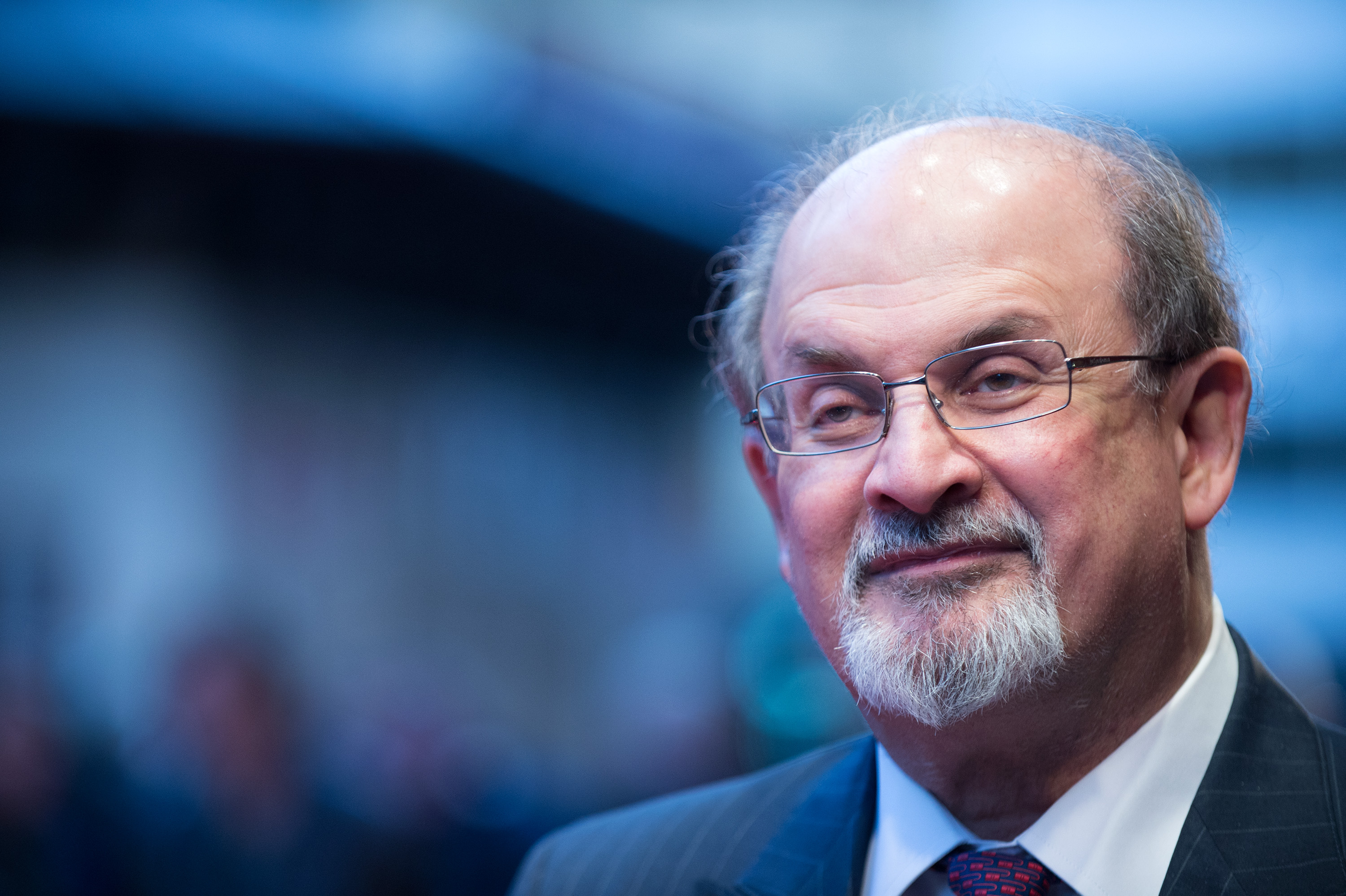 Salman Rushdie attends the premiere of 'Midnight's Children' during the 56th BFI London Film Festival at Odeon West End on Oct. 14, 2012 in London, England.
