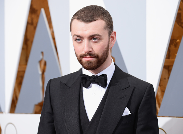 Sam Smith attends the 88th Annual Academy in Hollywood on Feb. 28, 2016.