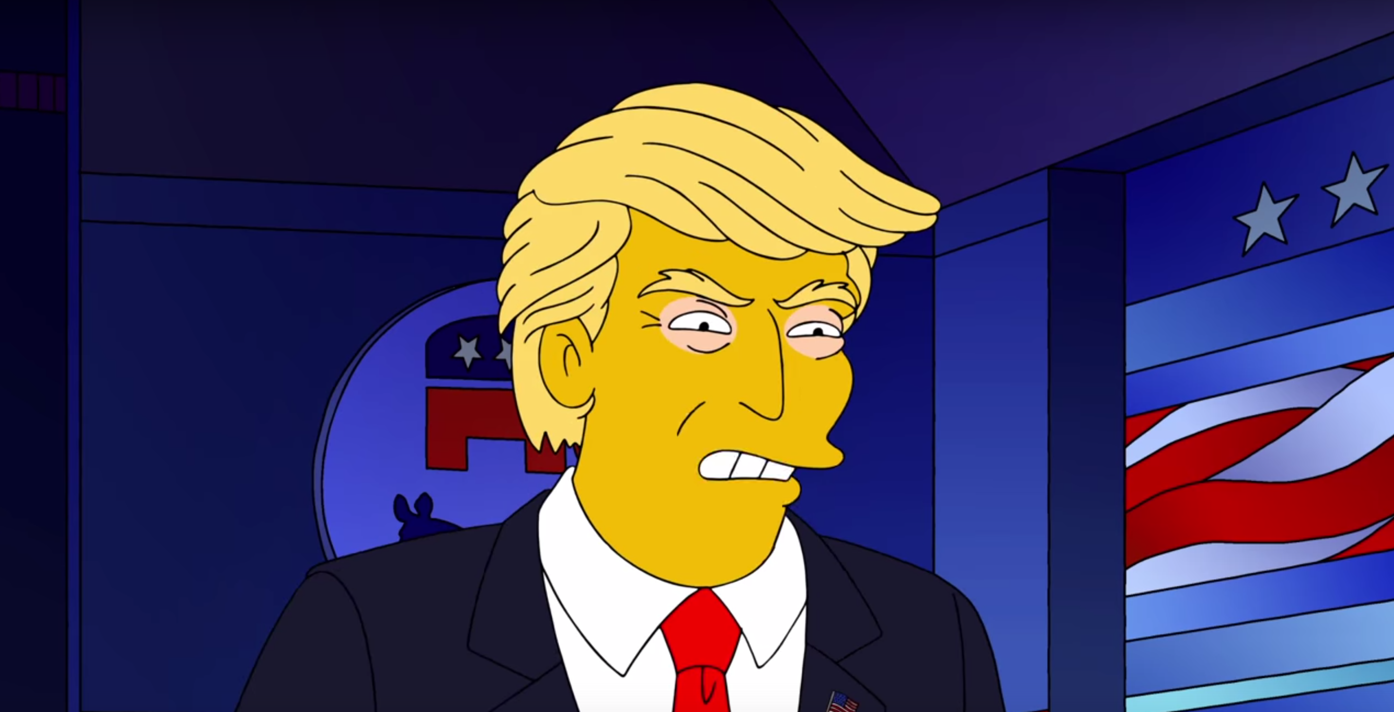 The Simpsons Predicted Donald Trump S Presidency Time Com