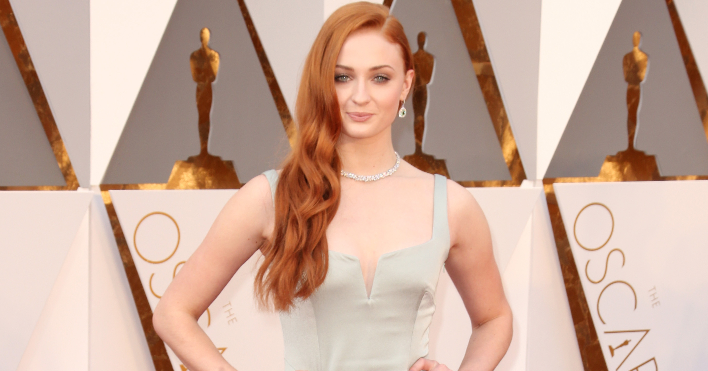 Sophie Turner attends the 88th Annual Academy Awards on Feb. 28, 2016 in Hollywood, Calif.