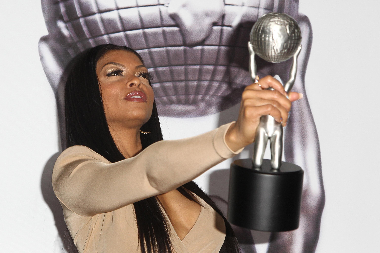 Taraji P. Henson poses in the press room during the 47th NAACP Image Awards held at Pasadena Civic Auditorium on February 5, 2016 in Pasadena, Calif.