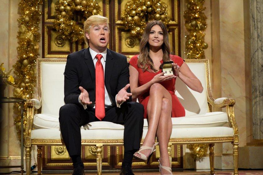 Taran Killam dressed as Donald Trump on Saturday Night Live on Dec. 5, 2015.