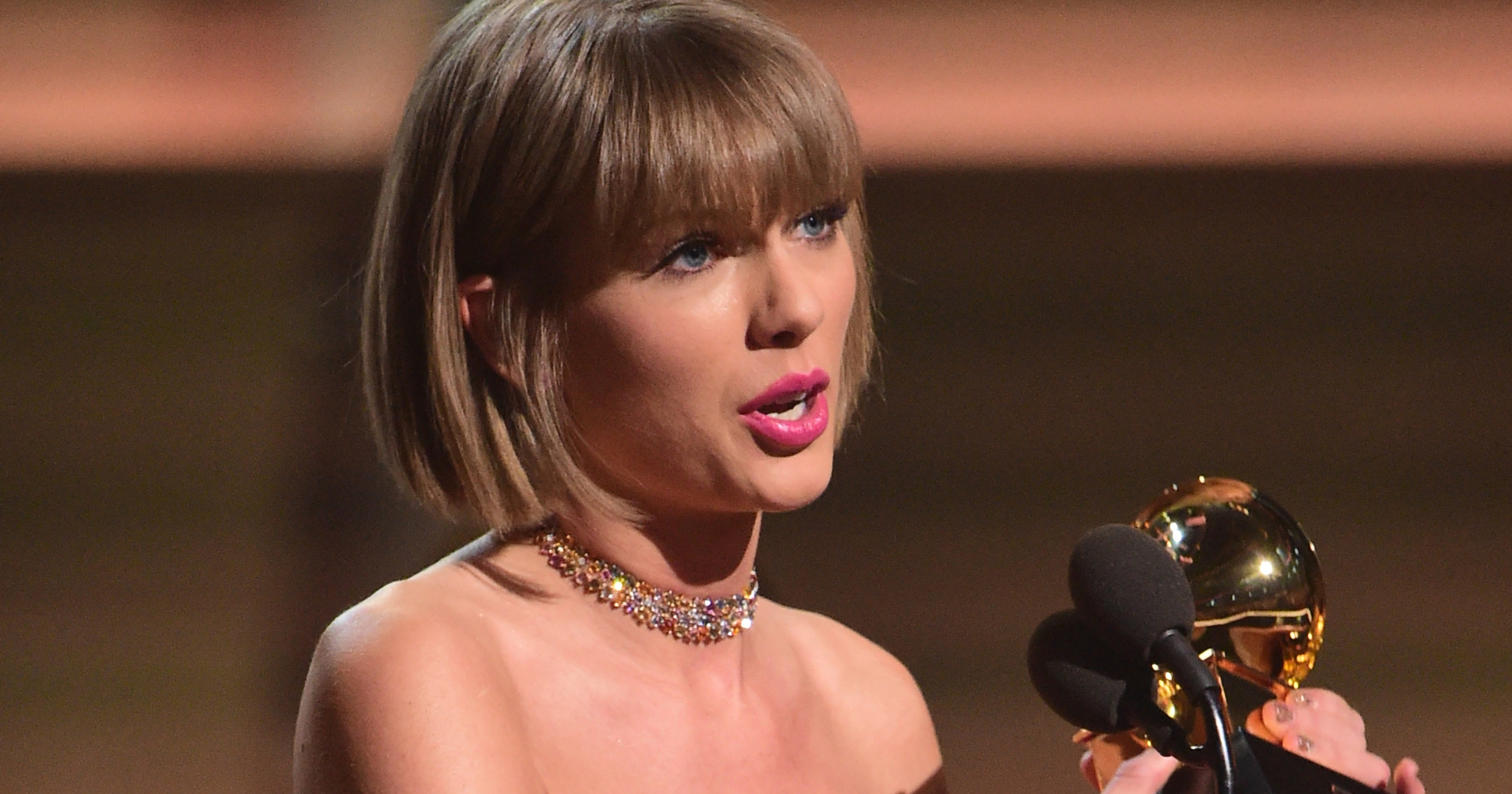 Grammys 2016 Taylor Swift Responds To Kanye West In Speech Time