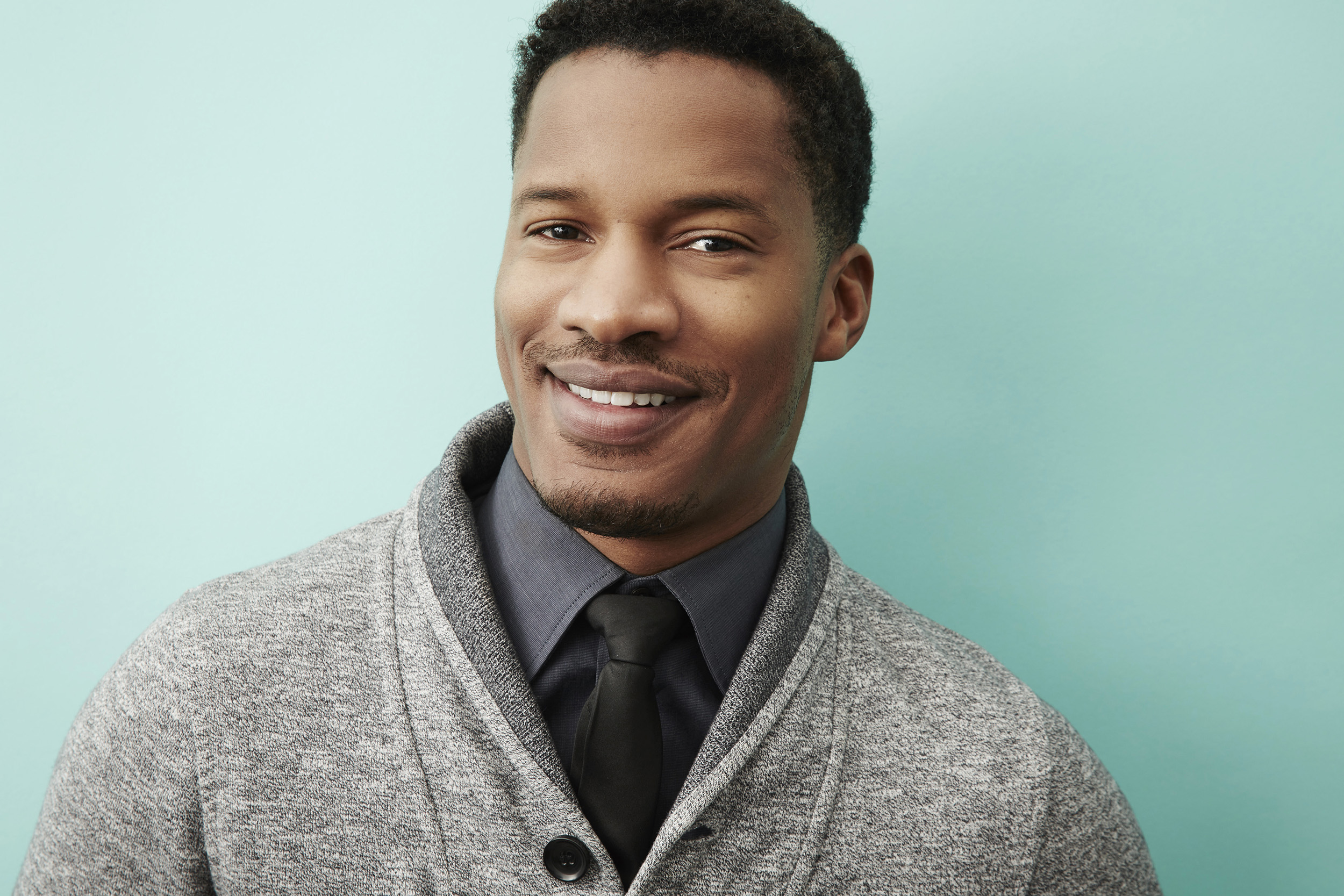 Nate Parker of 'The Birth of a Nation' at the 2016 Sundance Film Festival Getty Images Portrait Studio in Park City, Utah on Jan. 25, 2016.
