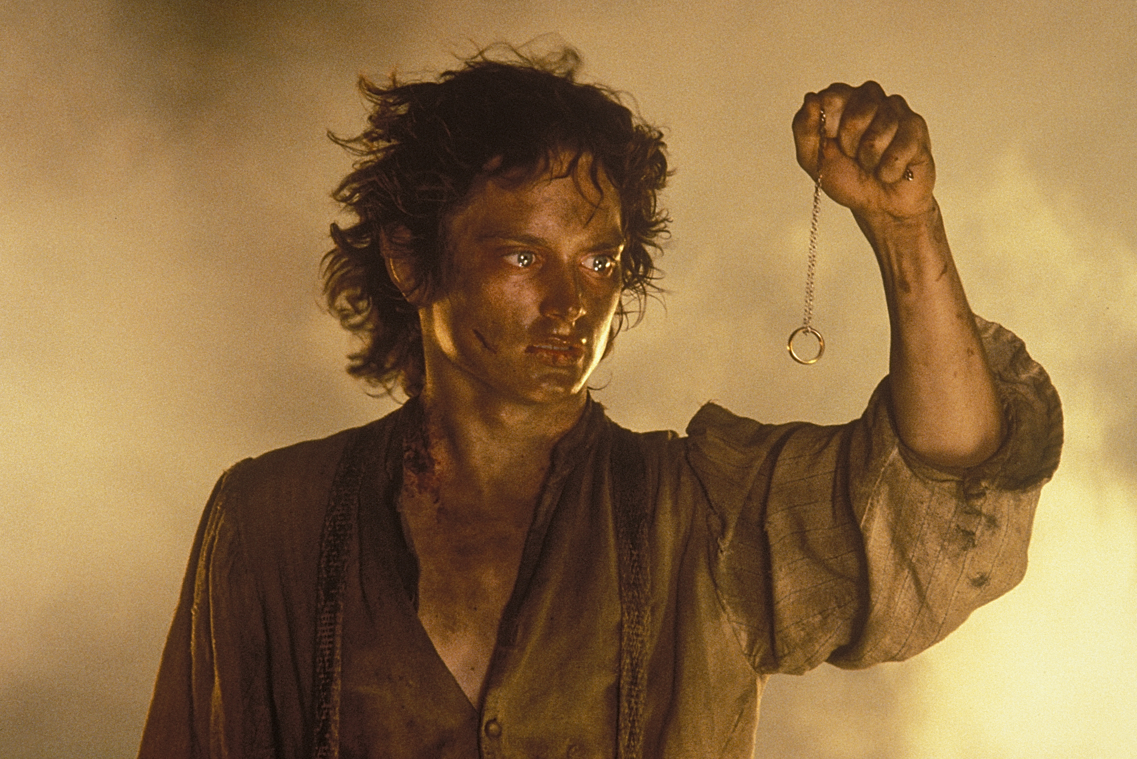 Elijah Wood as Frodo Baggins in 'The Lord of the Rings: The Return of the King.'