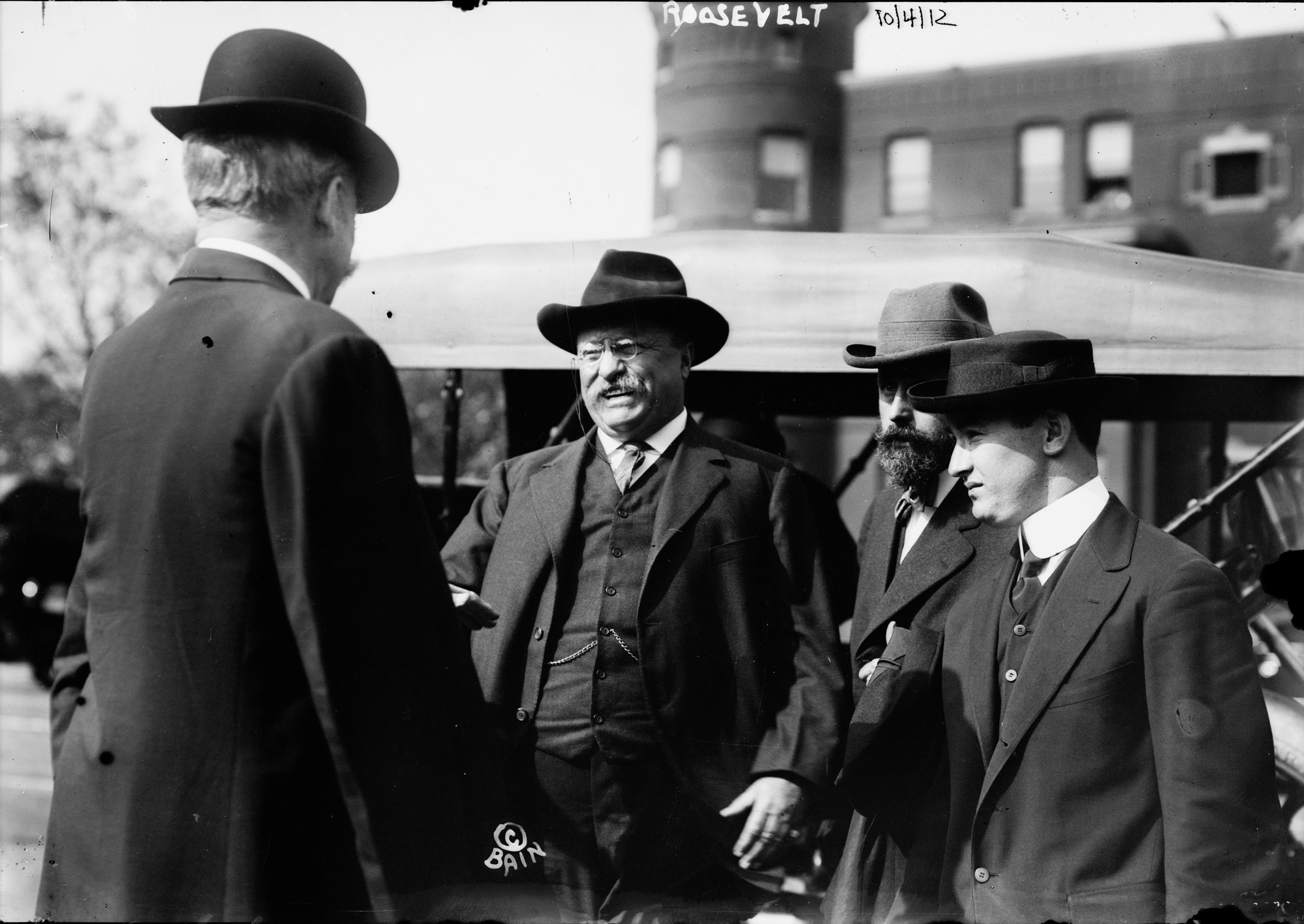 Theodore Roosevelt Shortly Before Assassination Attempt